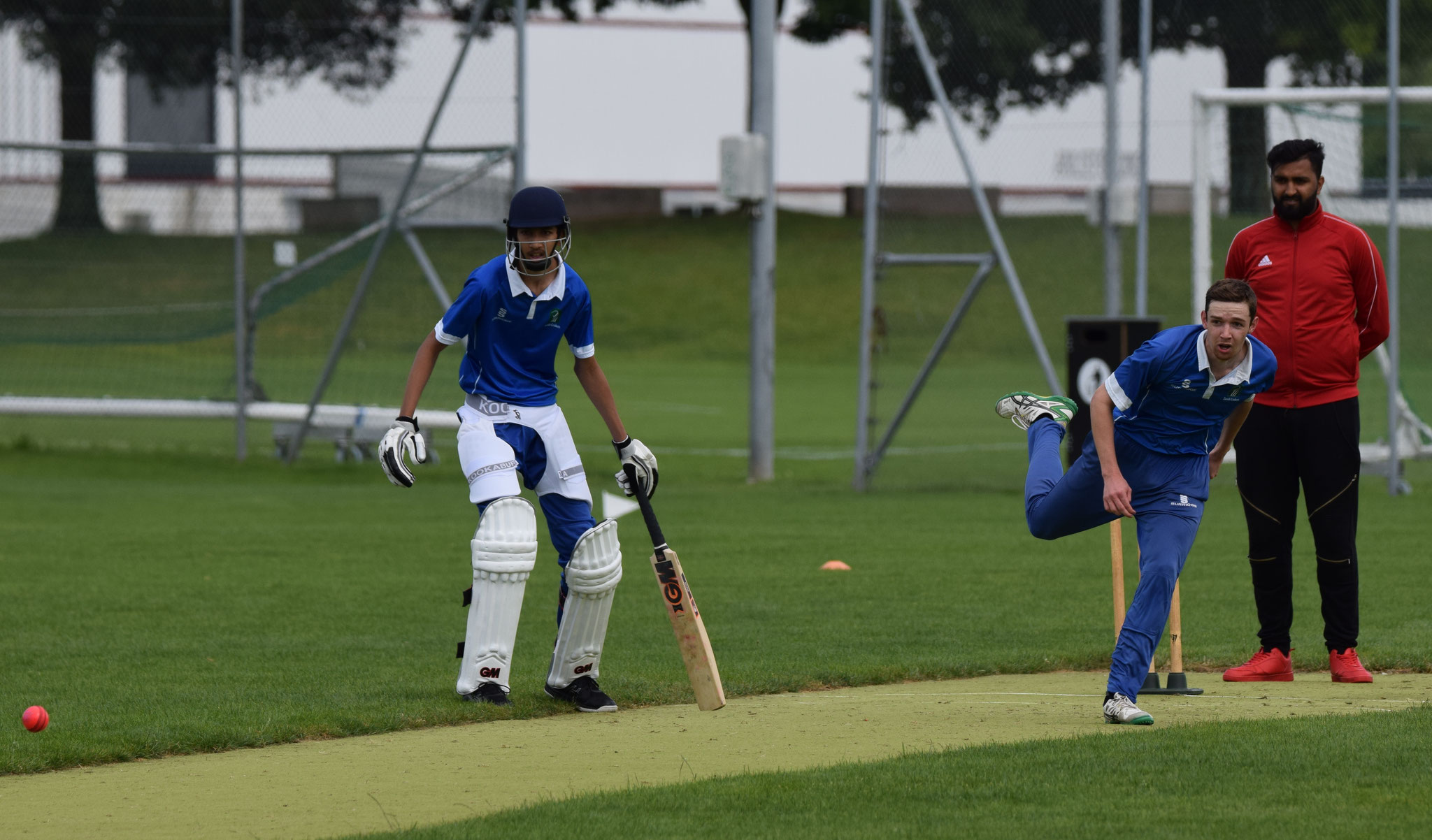 He gave little opportunity to the batsmen. Suleman was not out on 7 and the 1st XI had won by 99 runs but the 2nd XI need to get matches under their belts, gain experience and improve match by match.