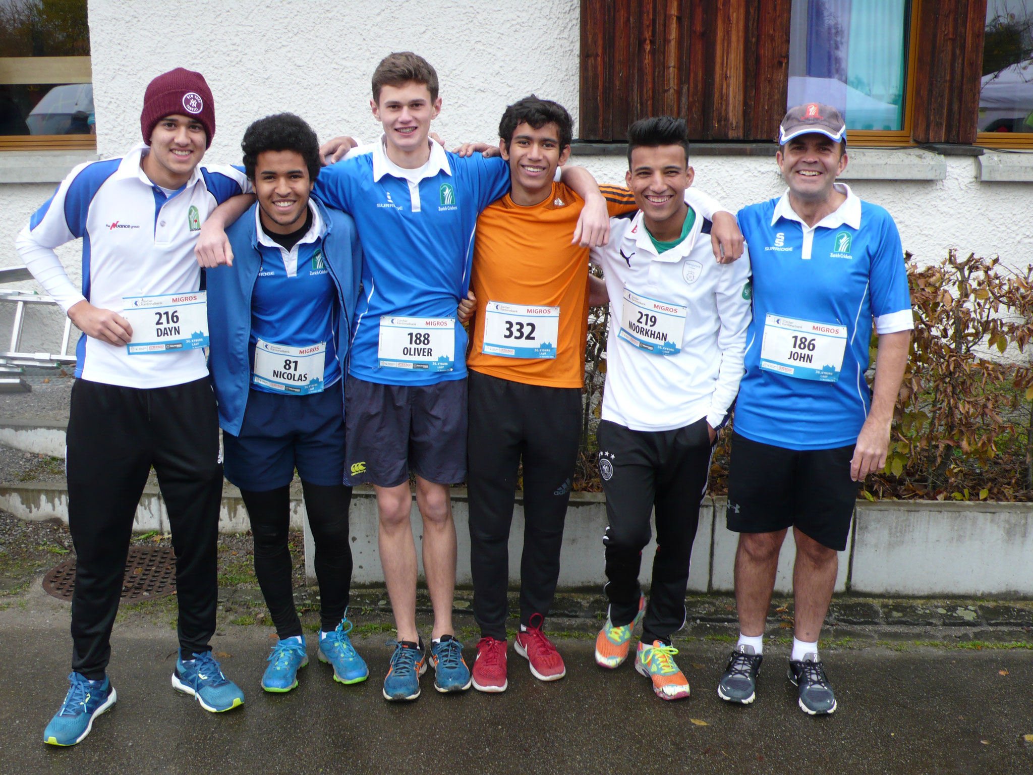 ZCCC runners before the start.