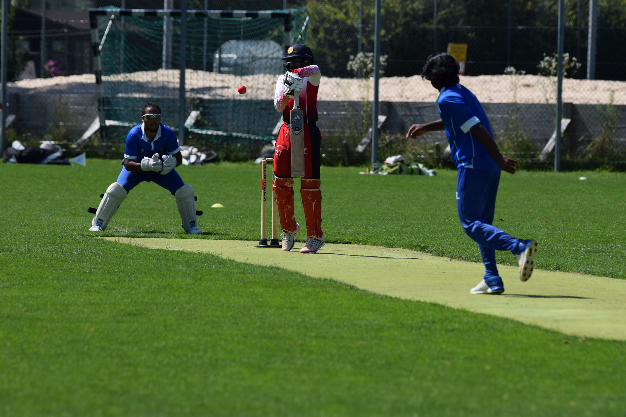 It was an devastating display. In over three Lavan took out the next batsman with a catch to Attaullah! And then he added wicket number 4 by producing a catch for Dayn!