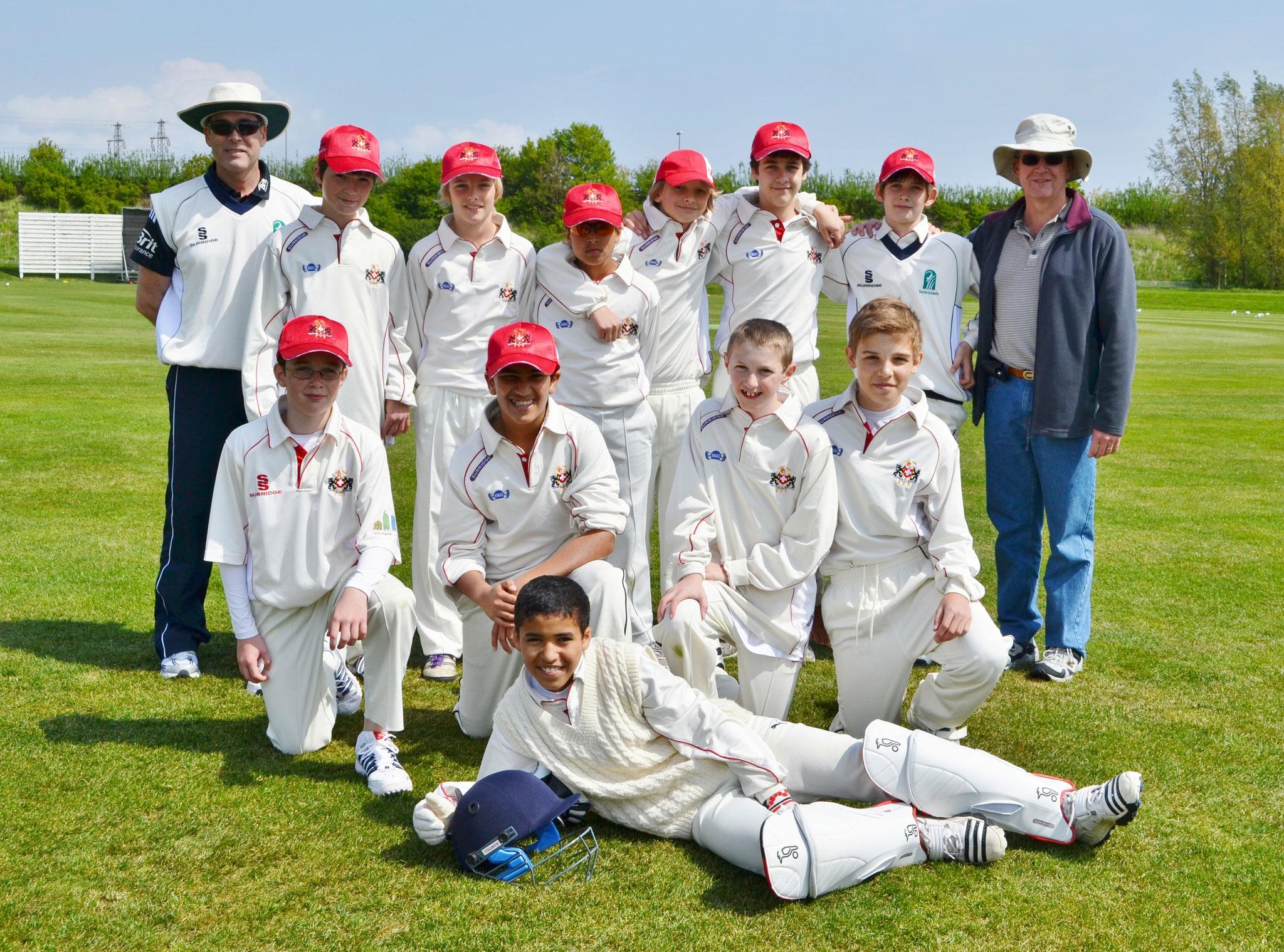 Swiss Under 13s in Denmark 2012