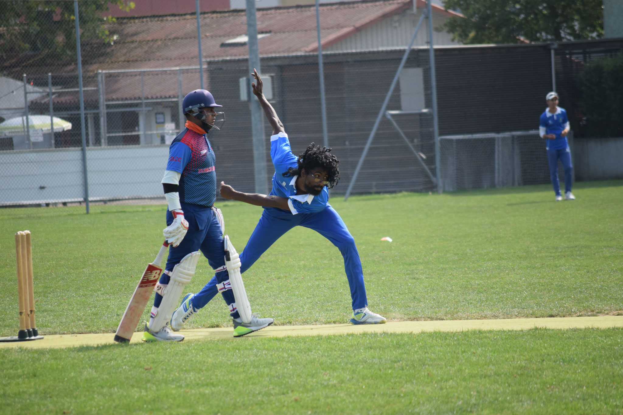 Kavi bowled a wonderfully economical 4-over spell