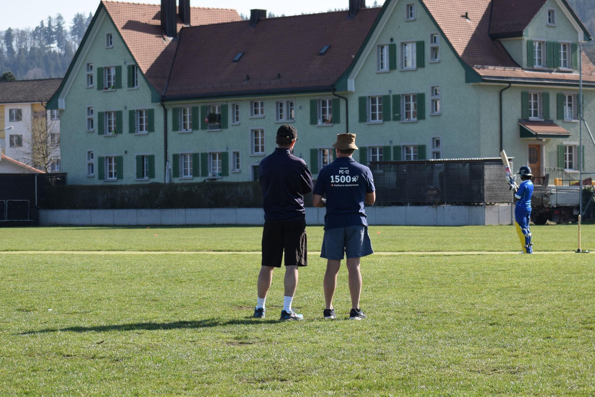 Umpiring and coaching at Deutweg 2020