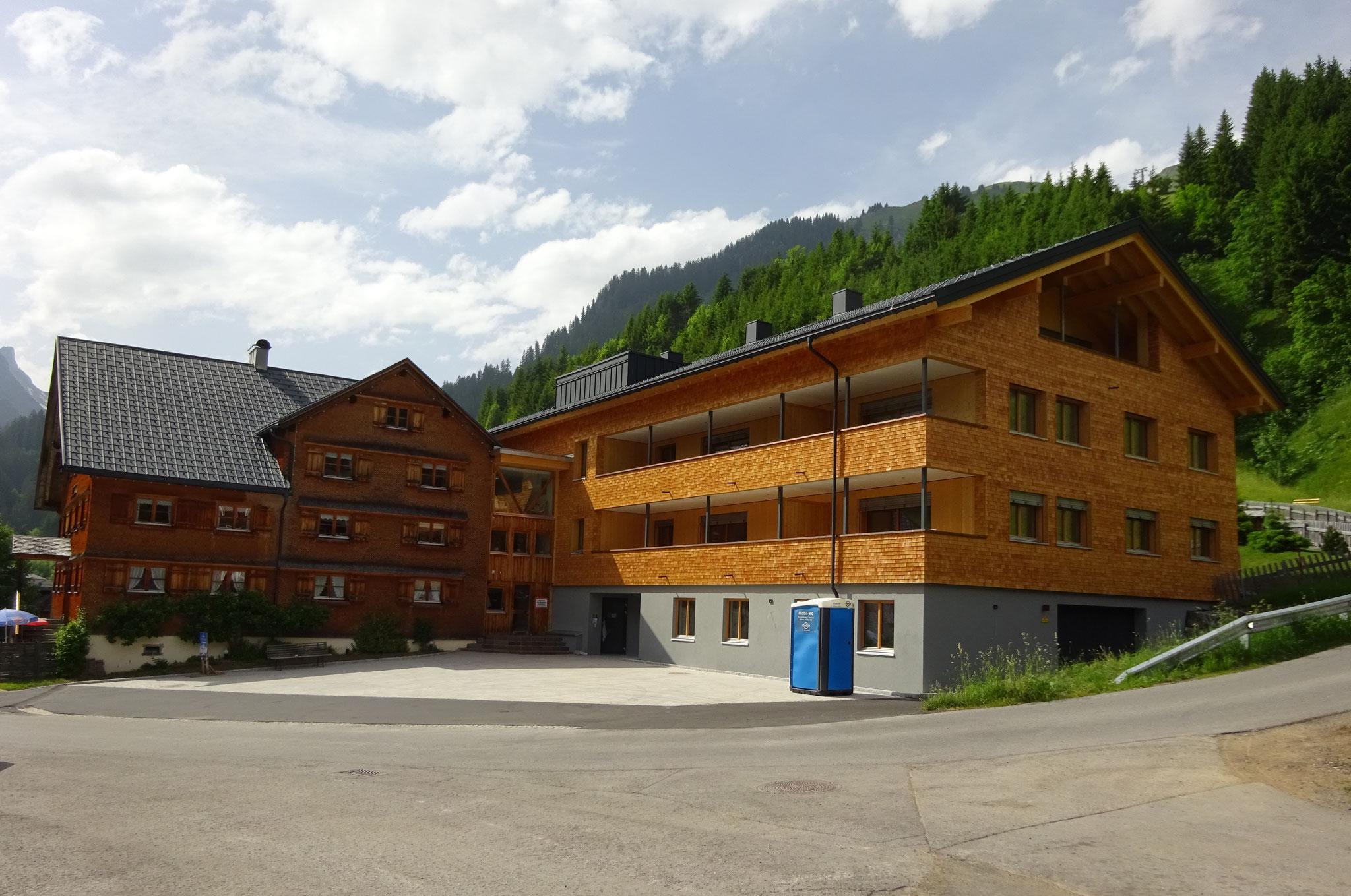 Sonnenhof Schröcken, Bauherr: C. Natter Wohnbau GmbH