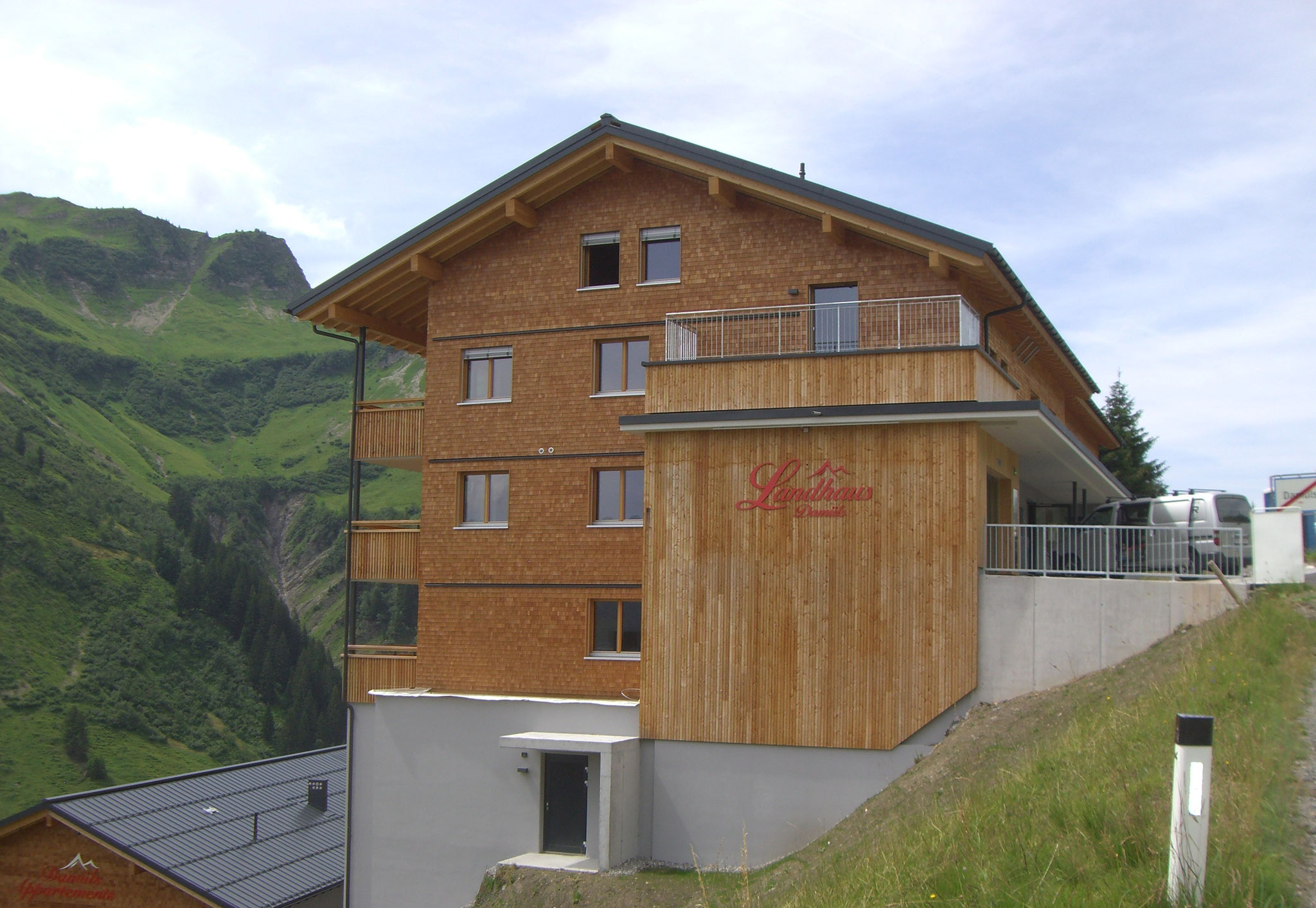 Landhaus Damüls, Bauherr: Natter Wohnbau GmbH