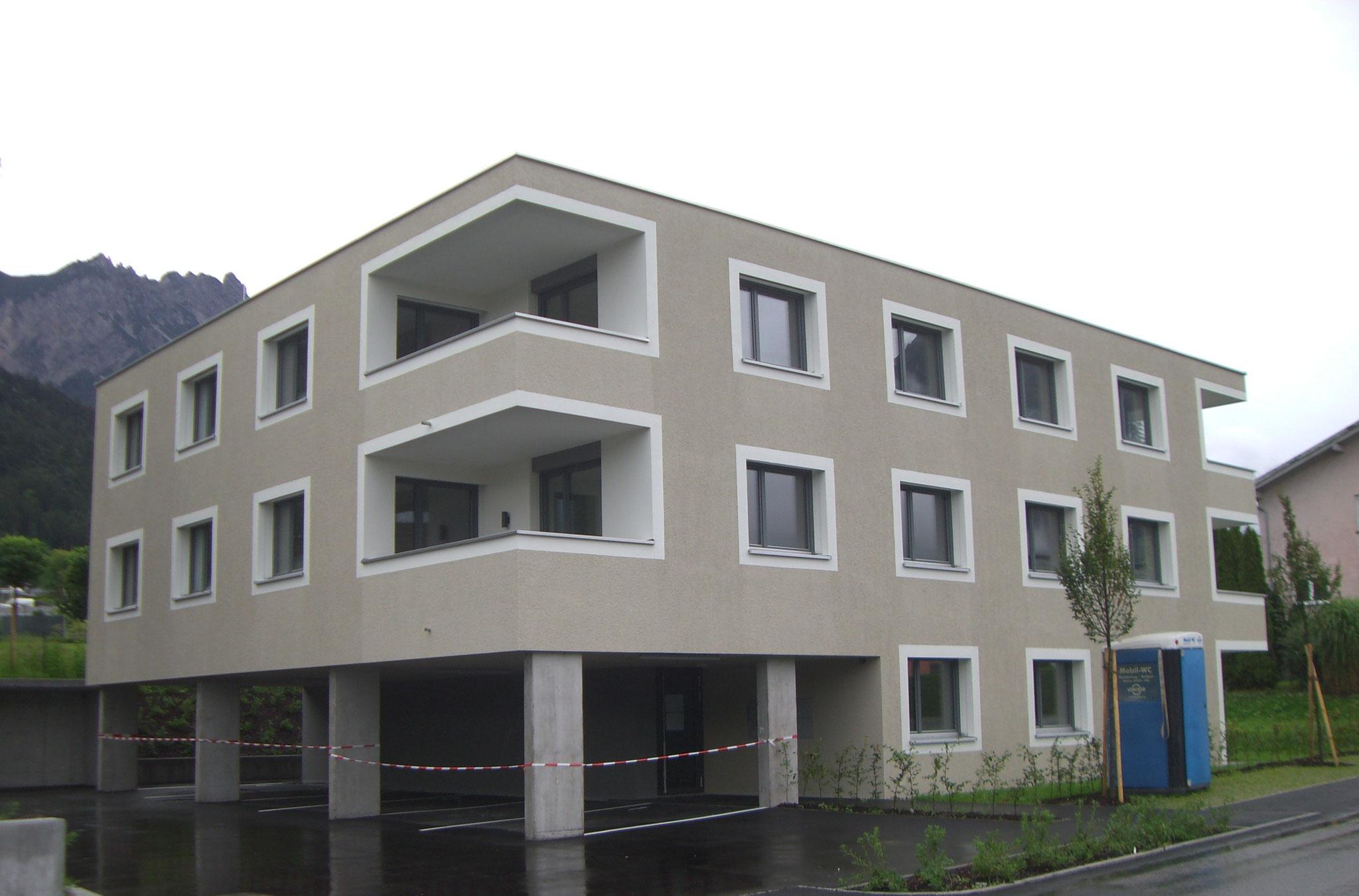 V175 Nüziders, Bauherr: Alpenländische Heimstätte Gemeinnützige Wohnungsbau- und  Siedlungsgesellschaft m.b.H.