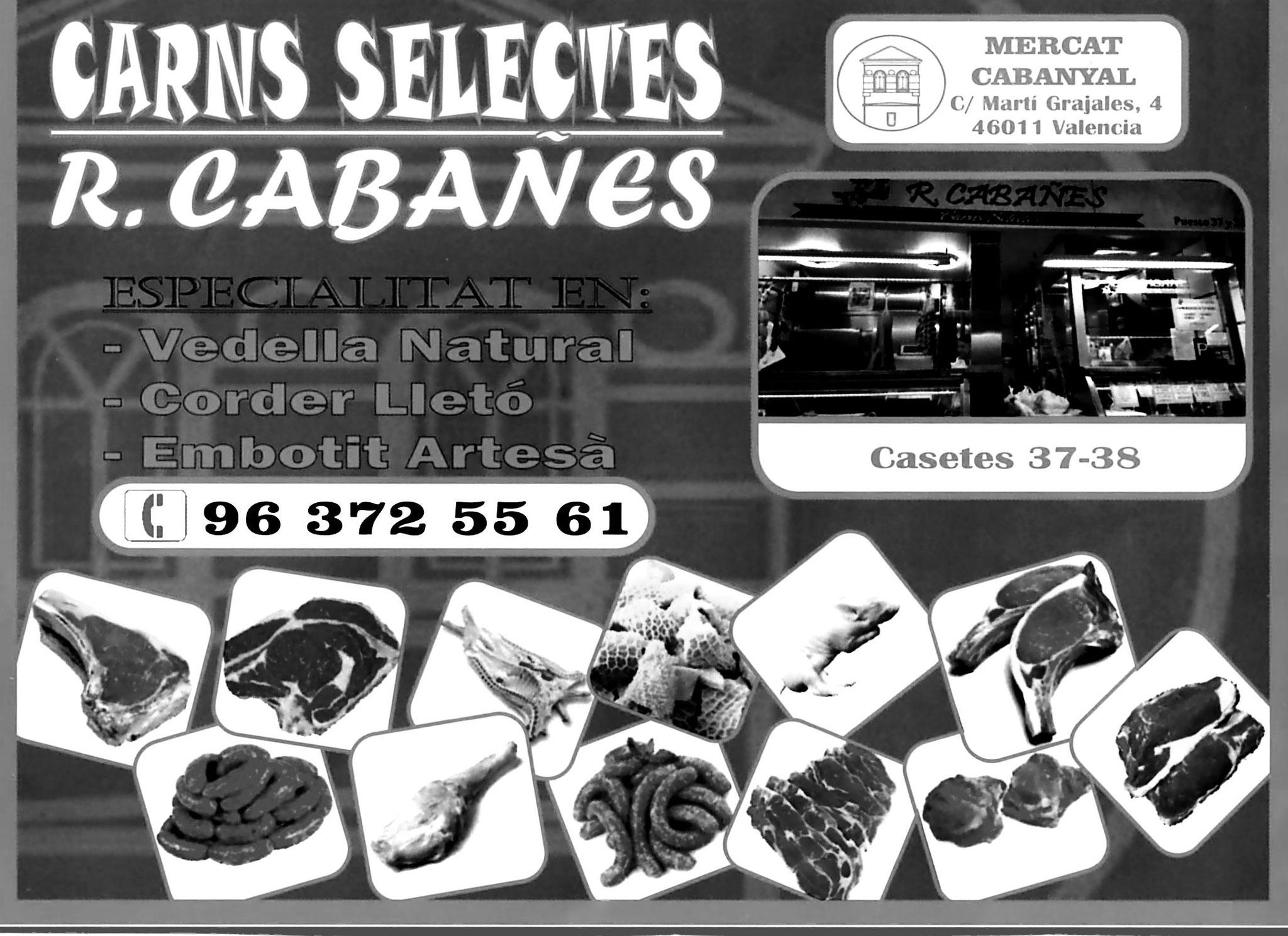 CARNES SELECTAS. R. CABAÑES
