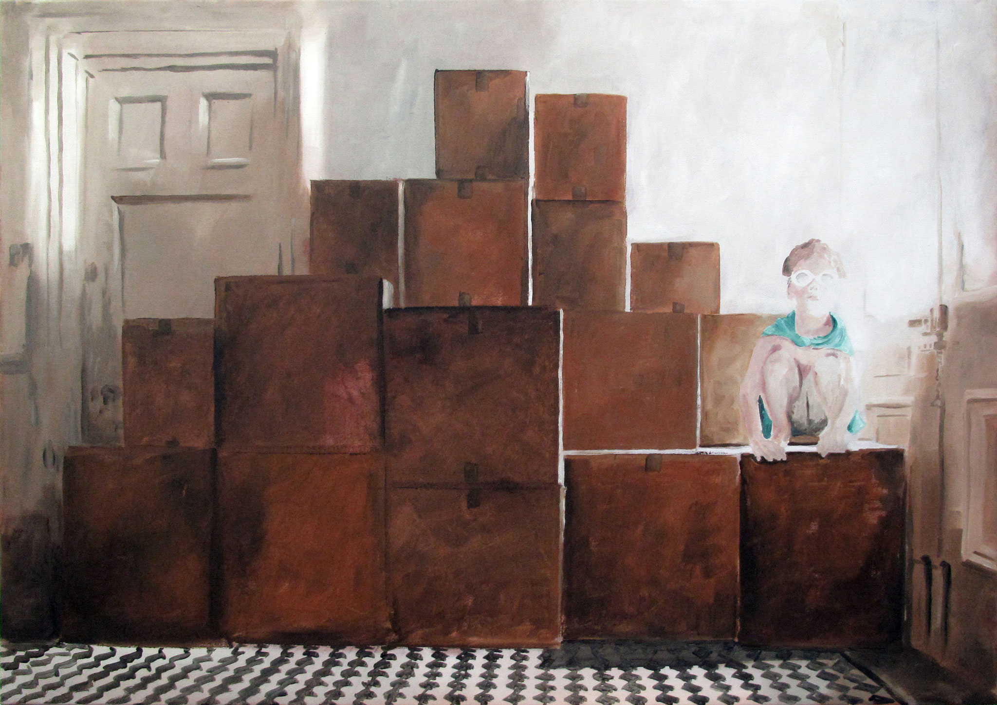 Vacancy | 85 x 120 cm | Öl auf Nessel | 2018