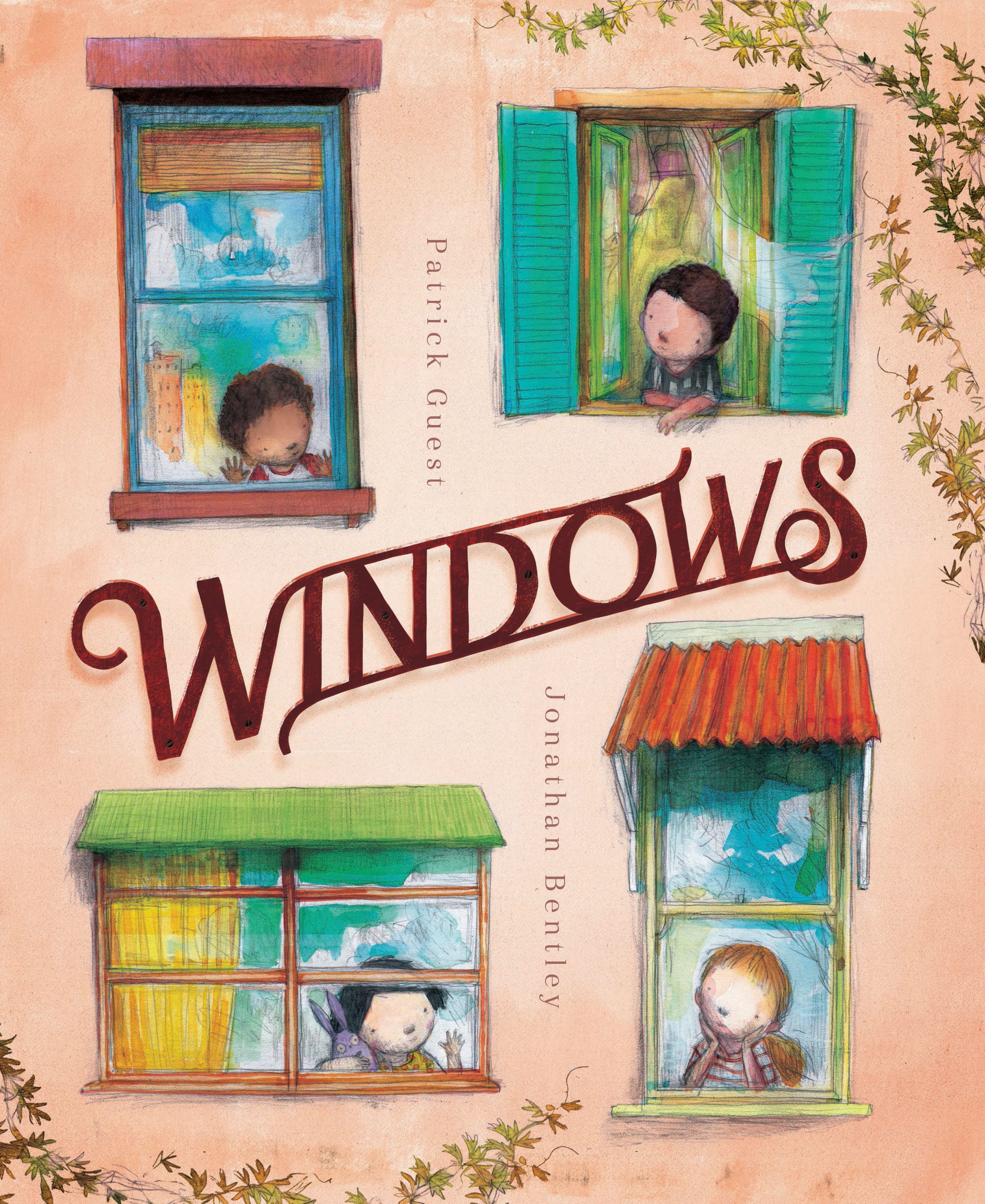 Windows a new book by Patrick and Jonathan Bentley - Available July - Click Here for more images of this exciting new book