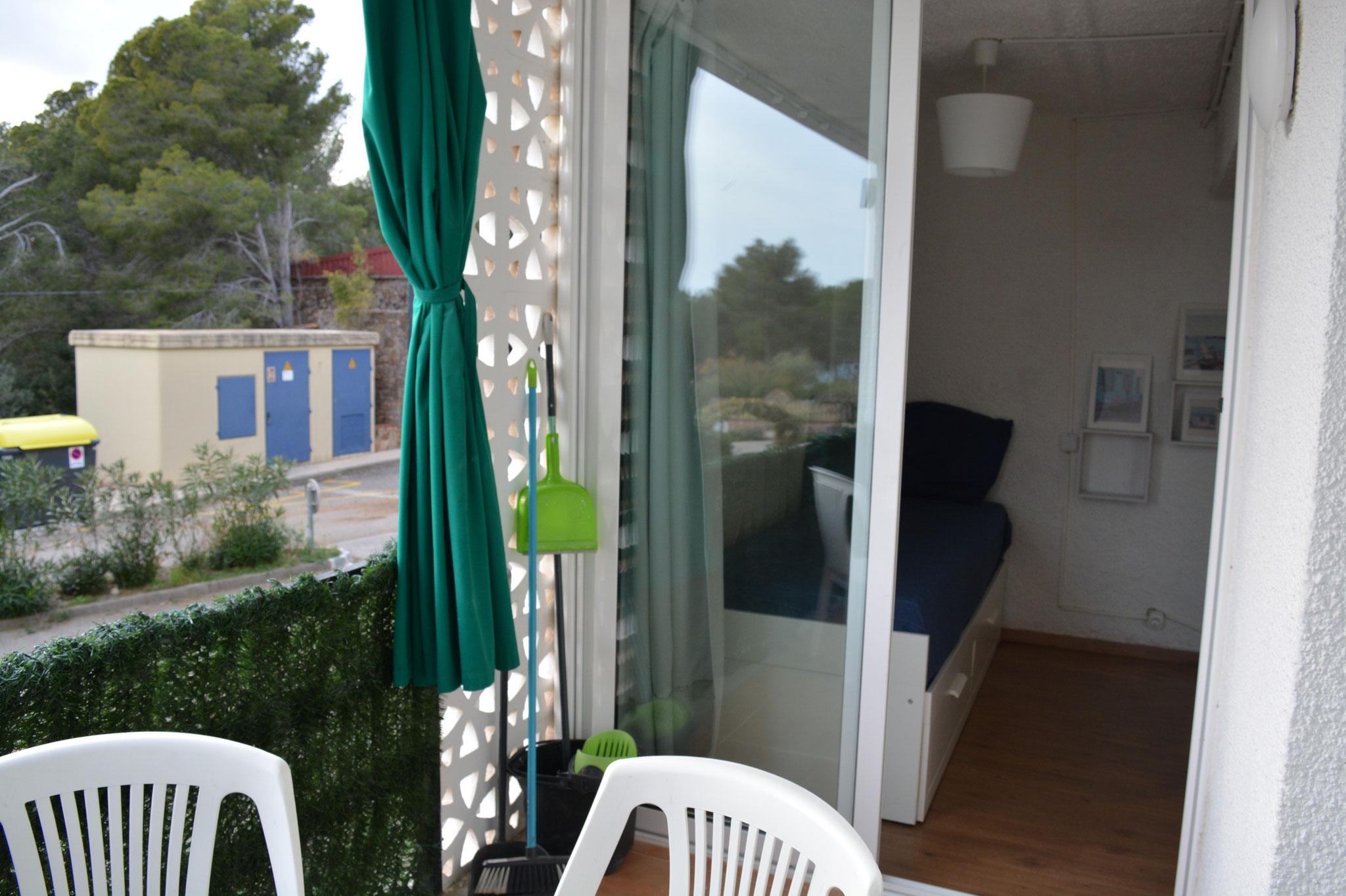 Dormitorio/ Terraza