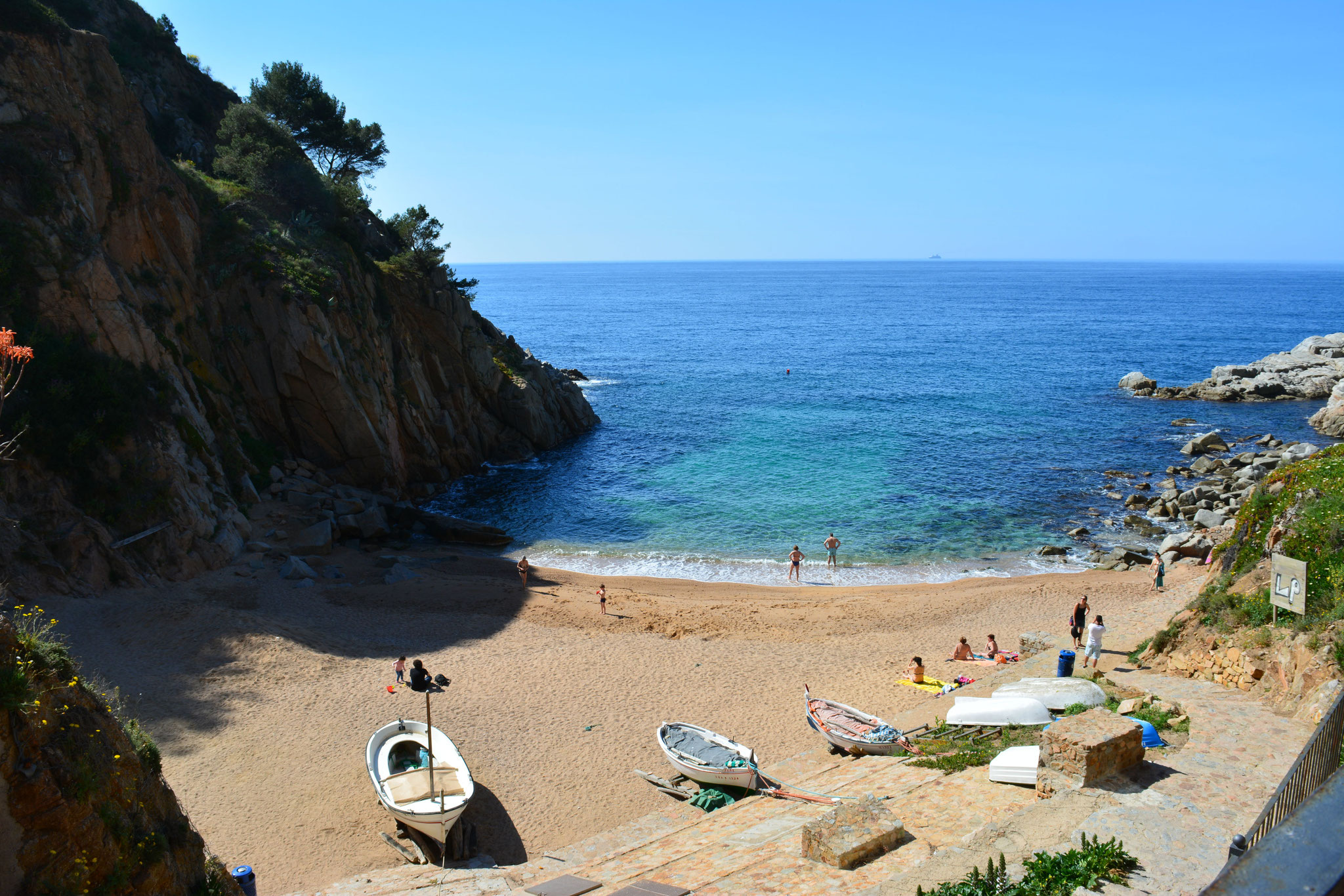 Tossa de Mar, playa