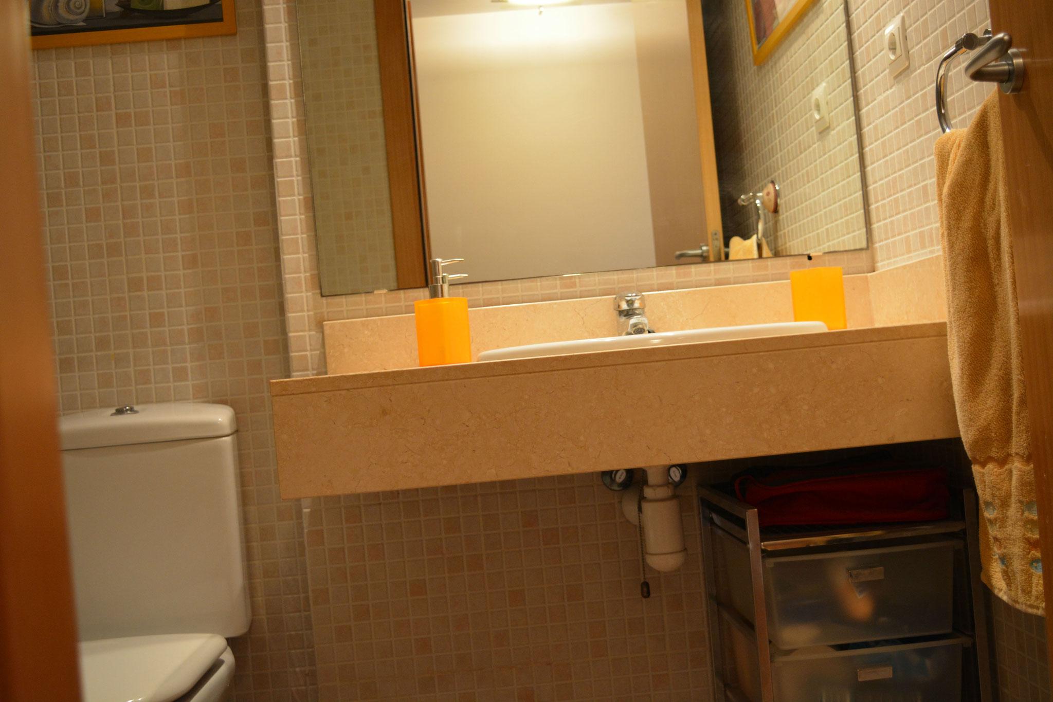 Salle de bains, chambre principale
