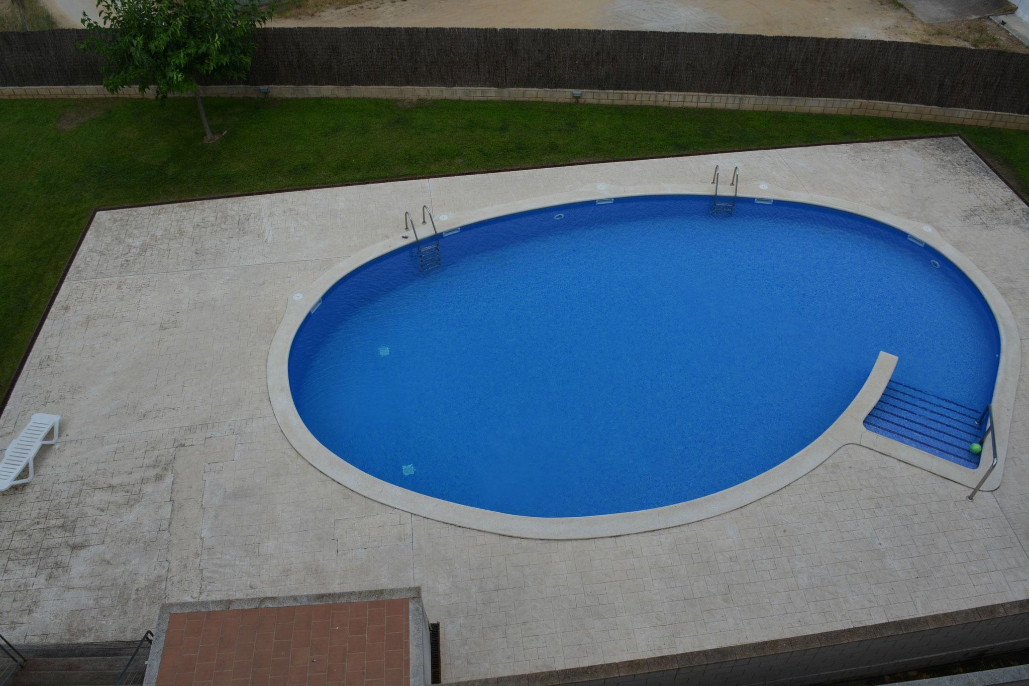 piscine avec jardin