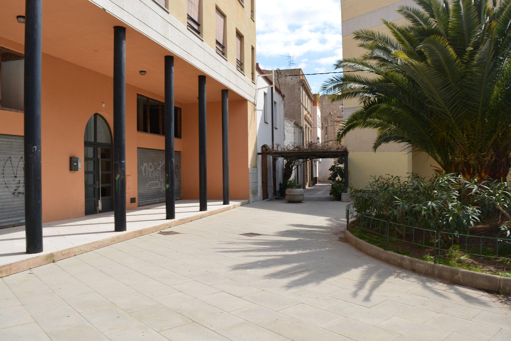 Plaza donde está el apartamento