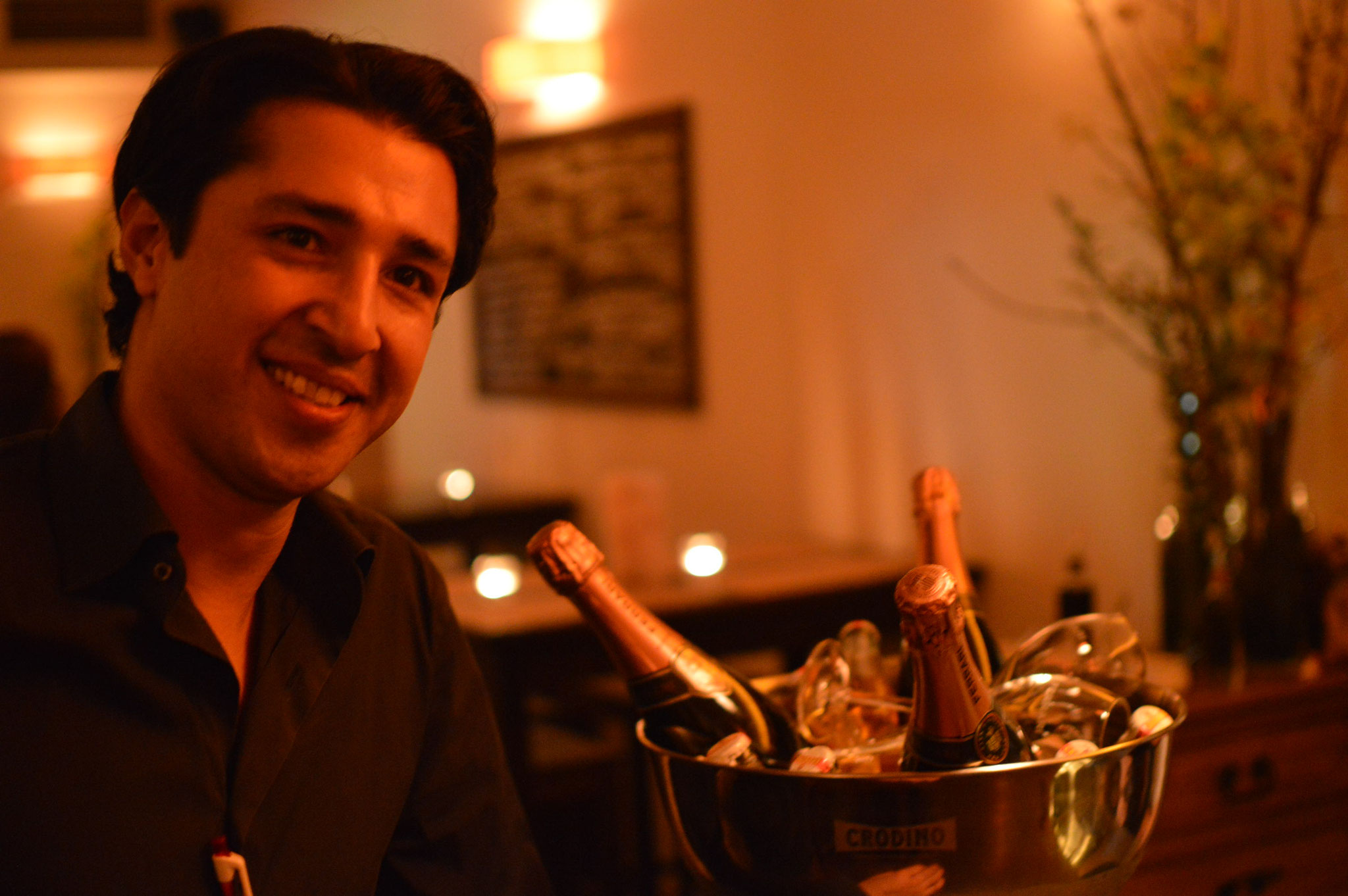 Hassa Kohestani - Gründer und Betreiber des Restaurants