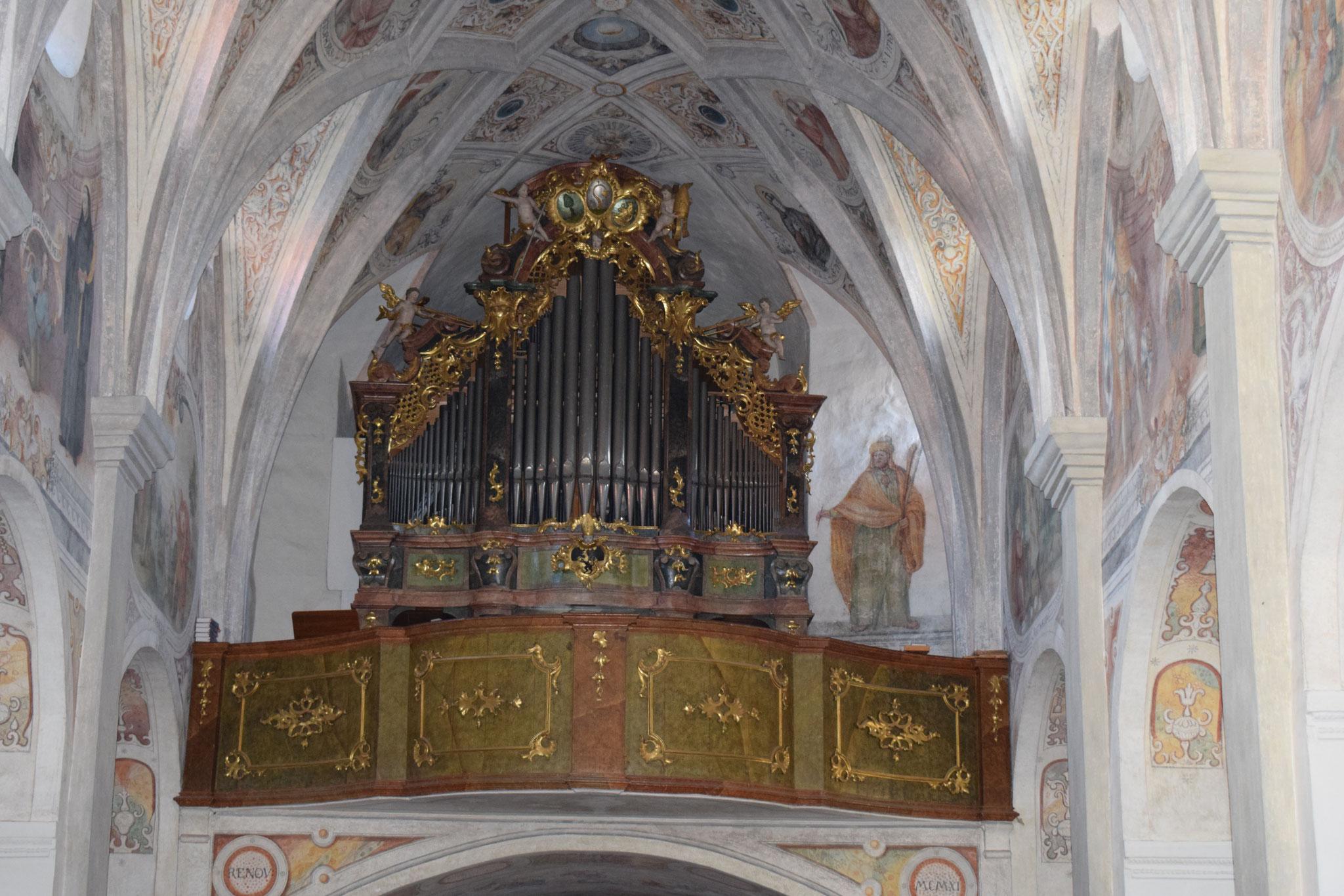 Auf dieser Orgel spielte einst Mozart