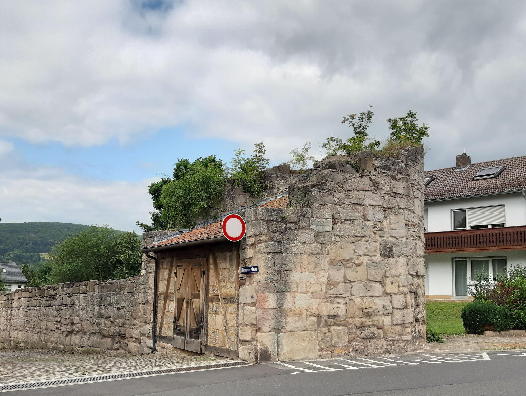 Teil der alten Stadtmauer, Bad Sooden-Allendorf