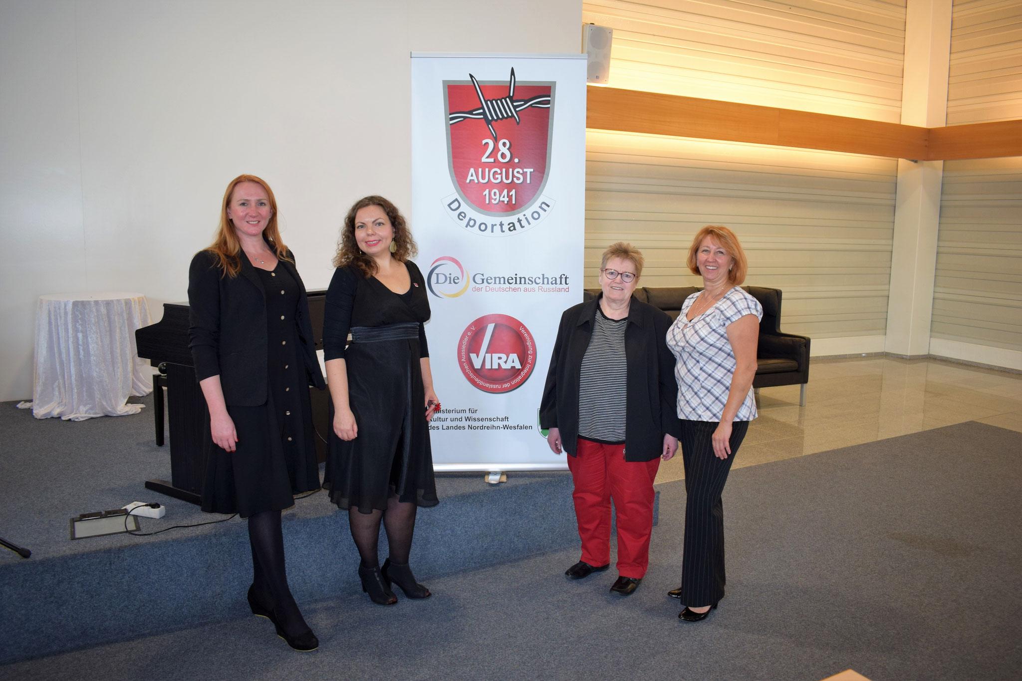 Katharina Martin-Virolainen, Ekaterina Grysiewicz, Rosa Ananitschev, Ludmila Esaulov