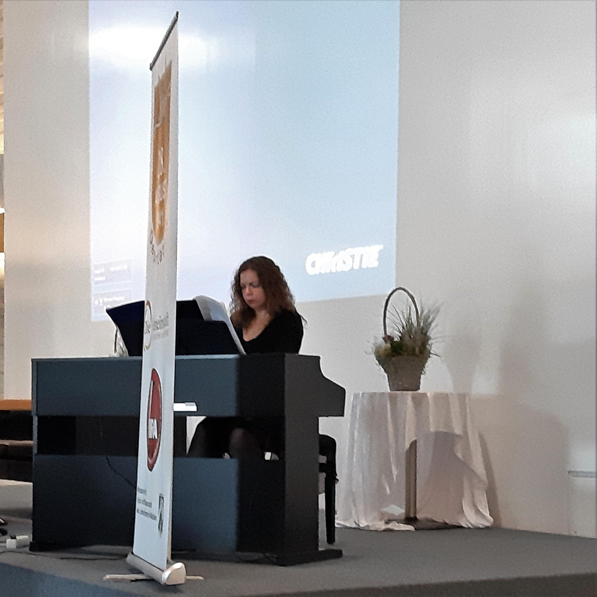 Am Klavier: Ekaterina Grysiewicz