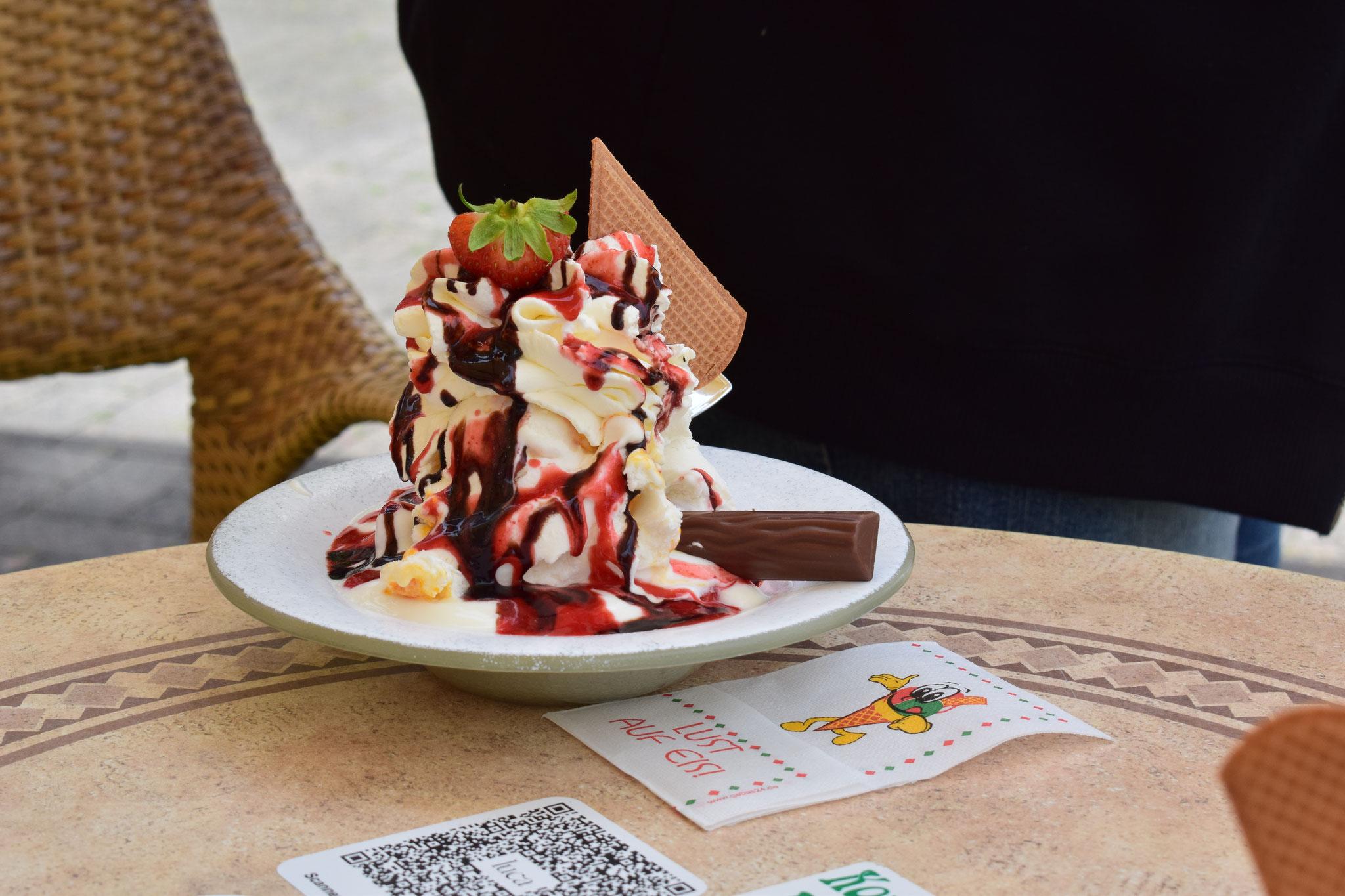 Yogurette-Eis ... lecker