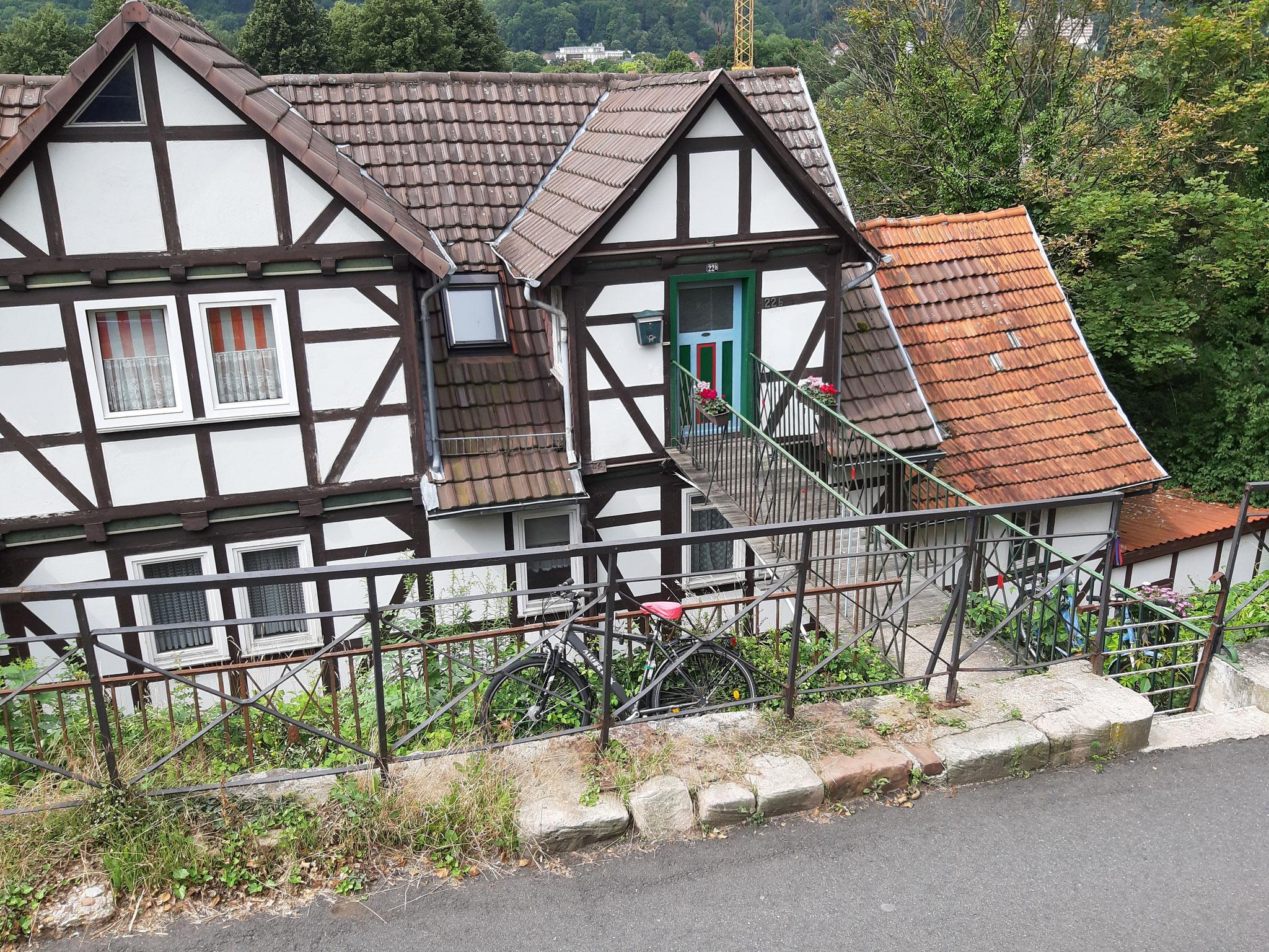 Ein Haus mit eigener Brücke, Bad Sooden-Allendorf