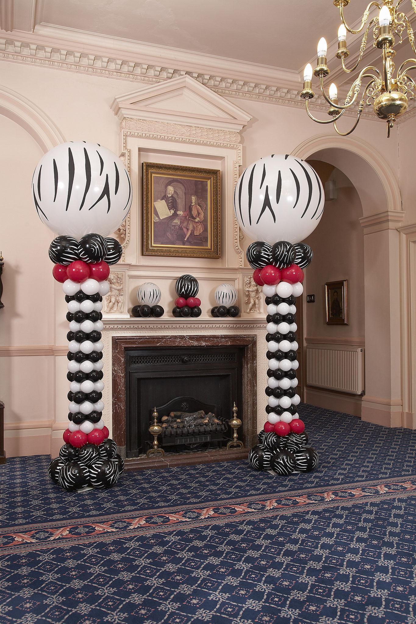 Colonnes ballons élégantes