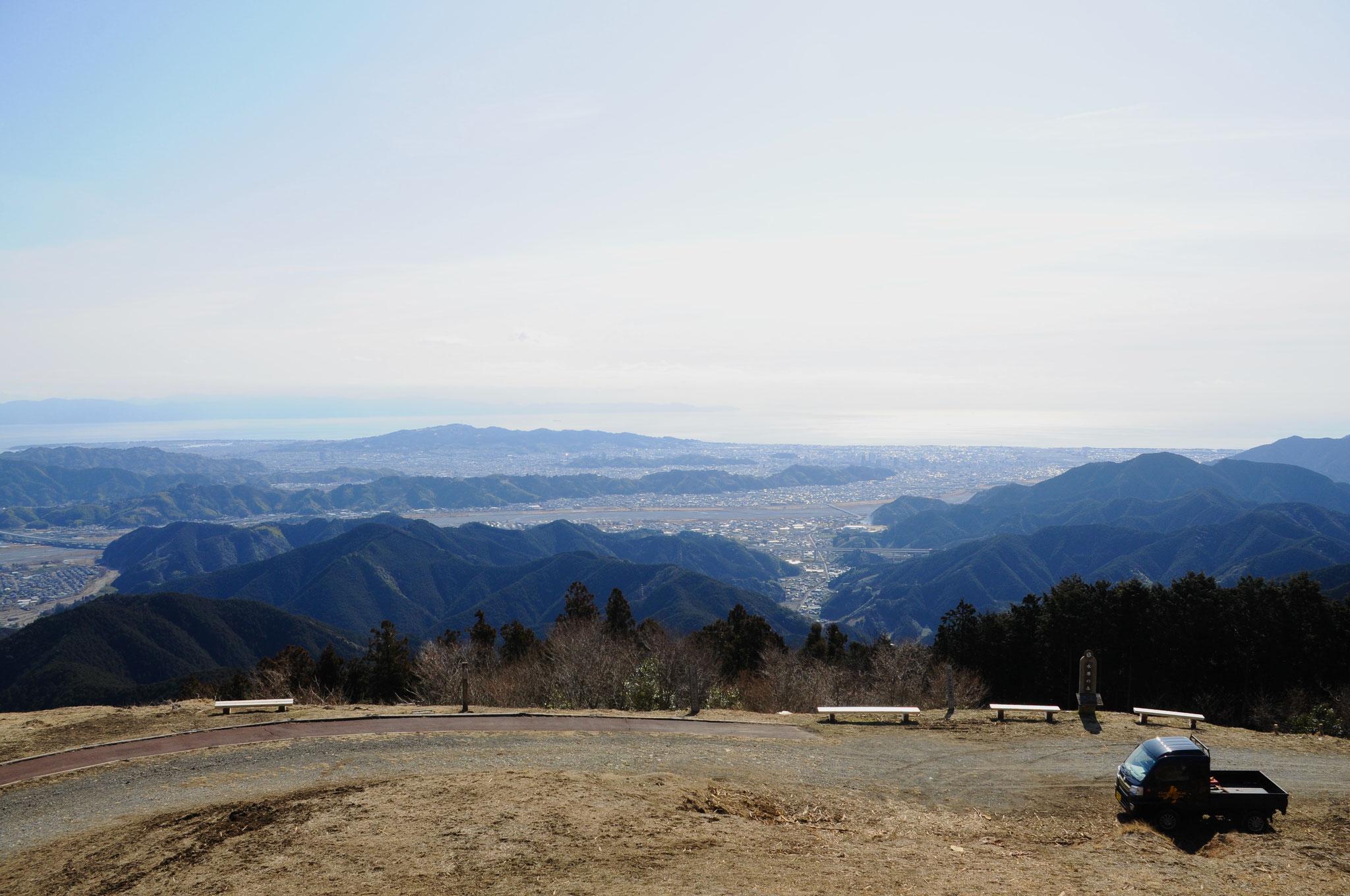 静岡市を一望!