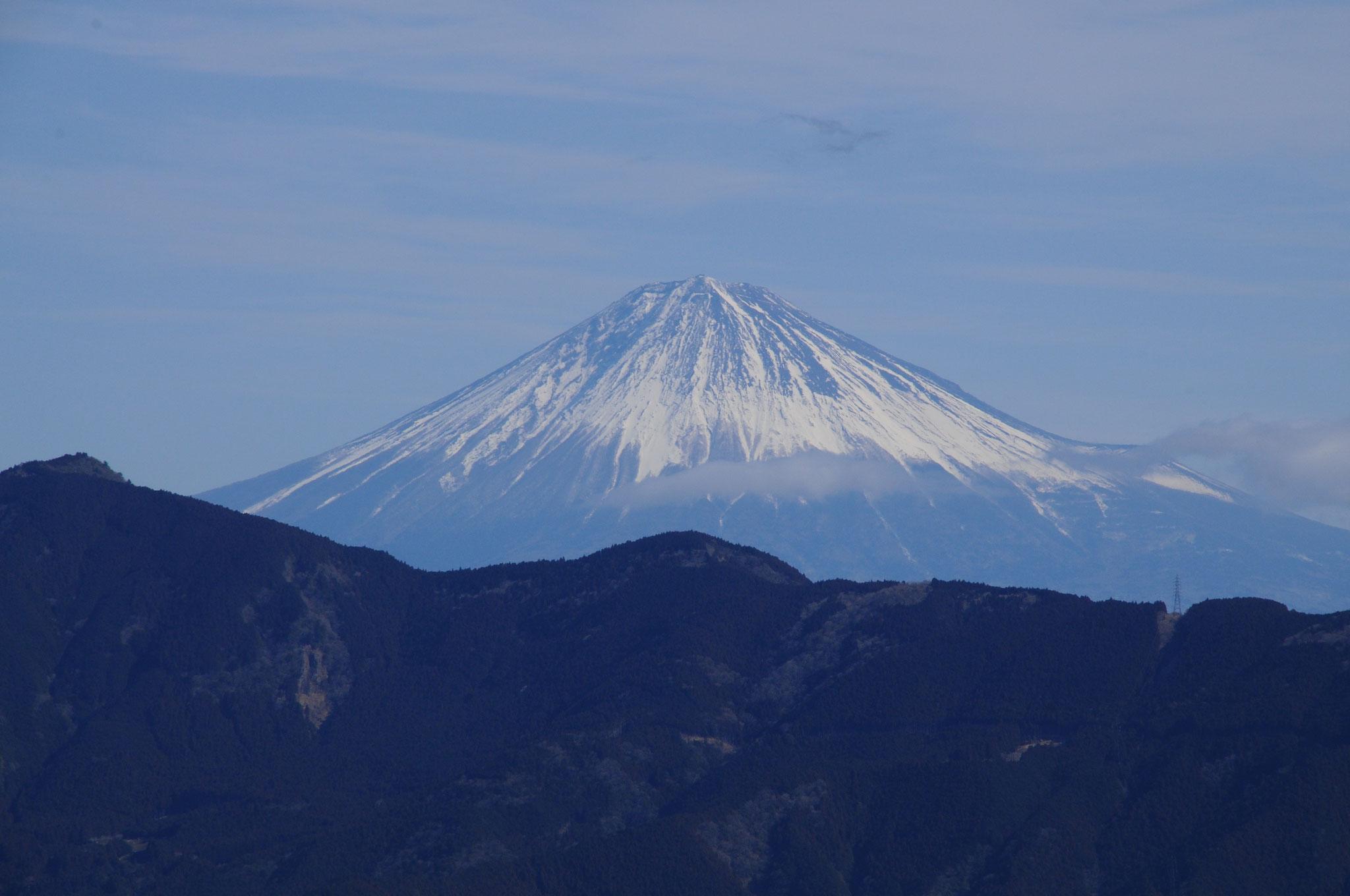 富士山もハッキリ見えますよ〜
