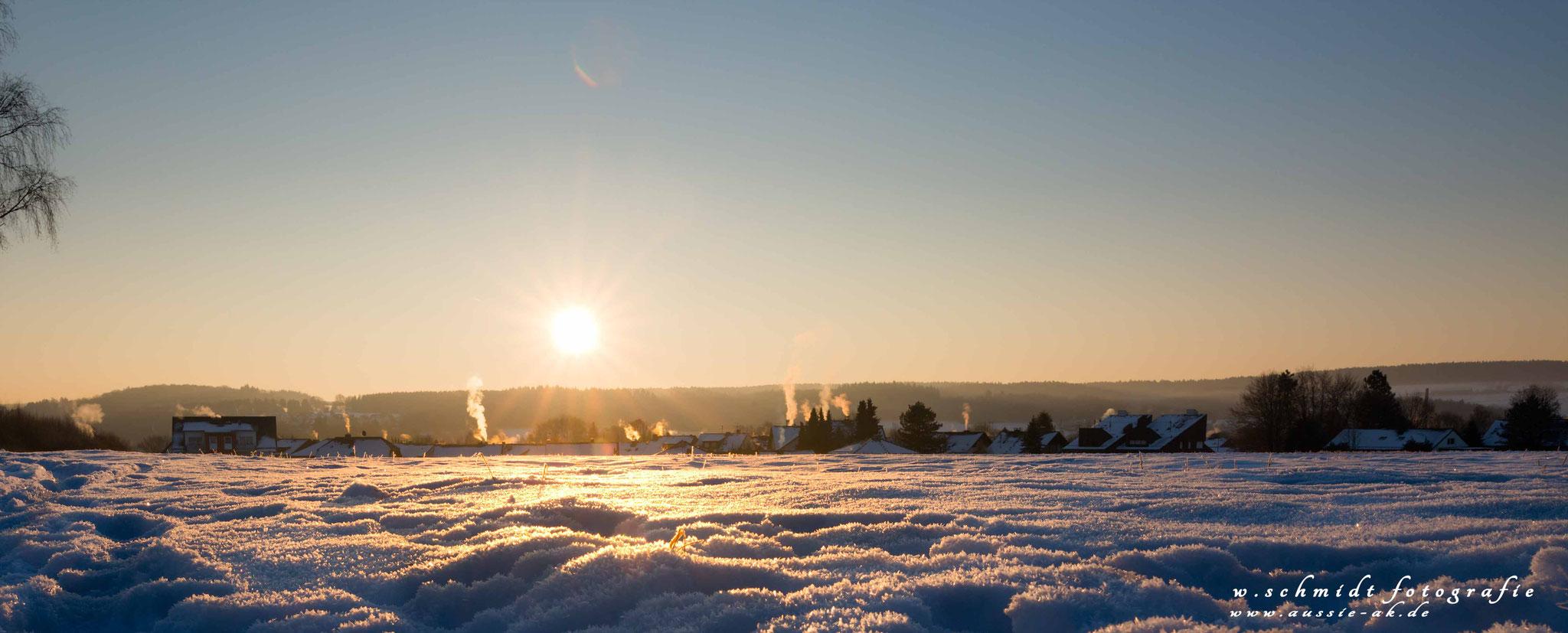 Januar 2017 Sonnenaufgang Rehhardt