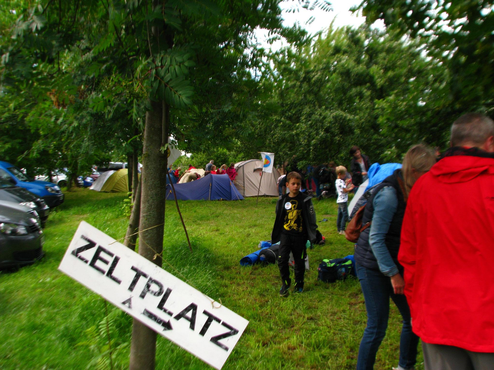 Der neue Zeltplatz