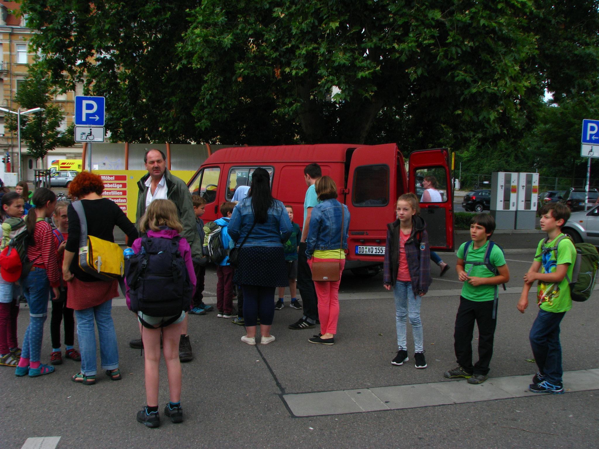 Sammeln in Dresden