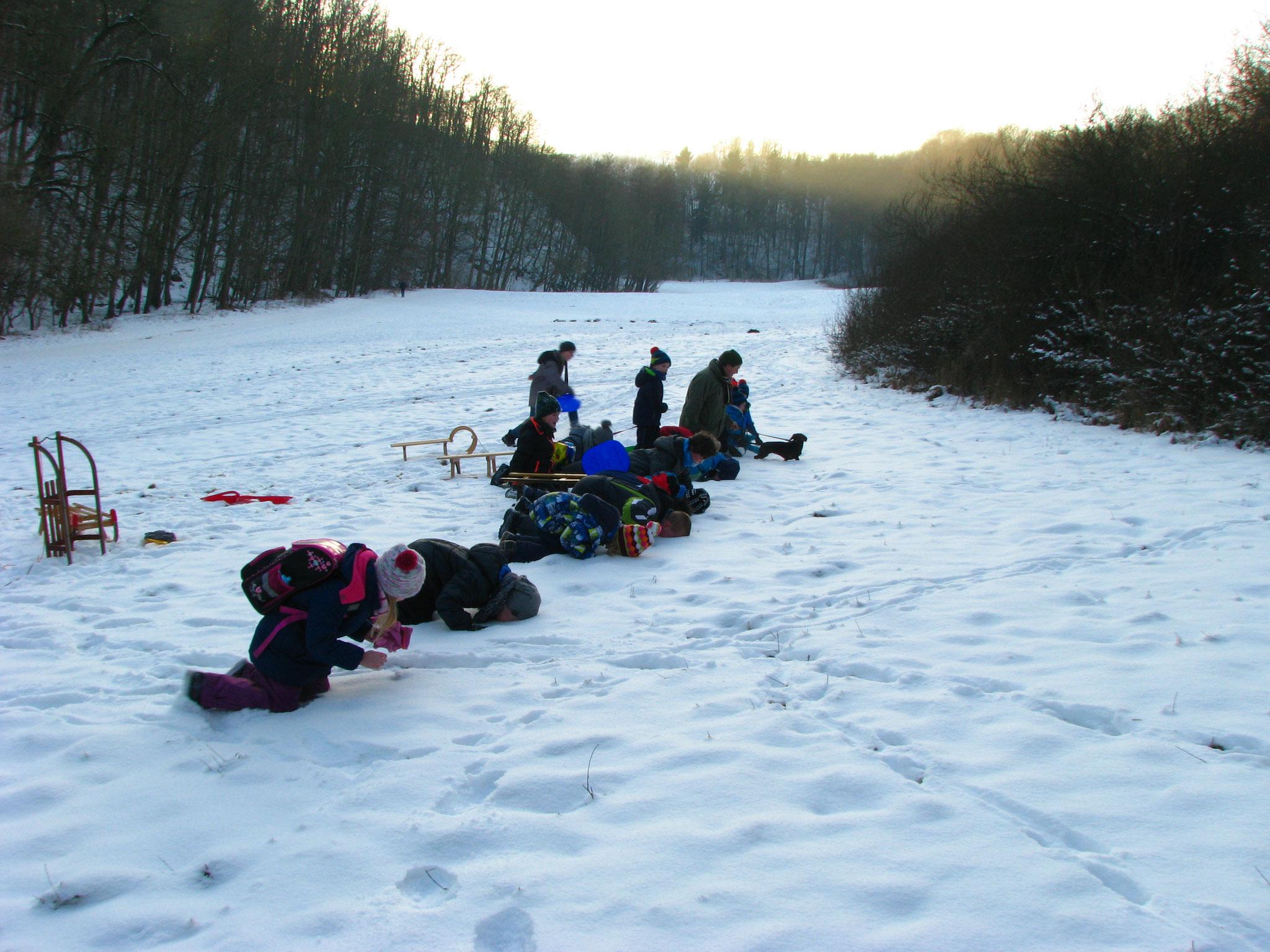 Die Schneetaufe