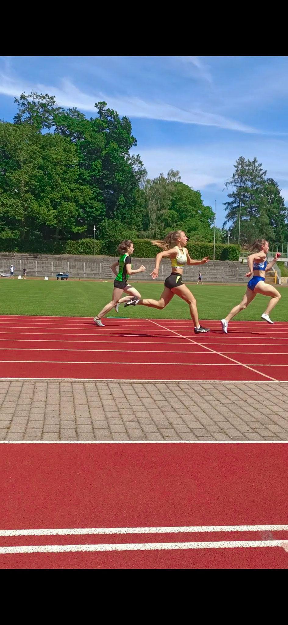 100m - Annalena - Foto: privat