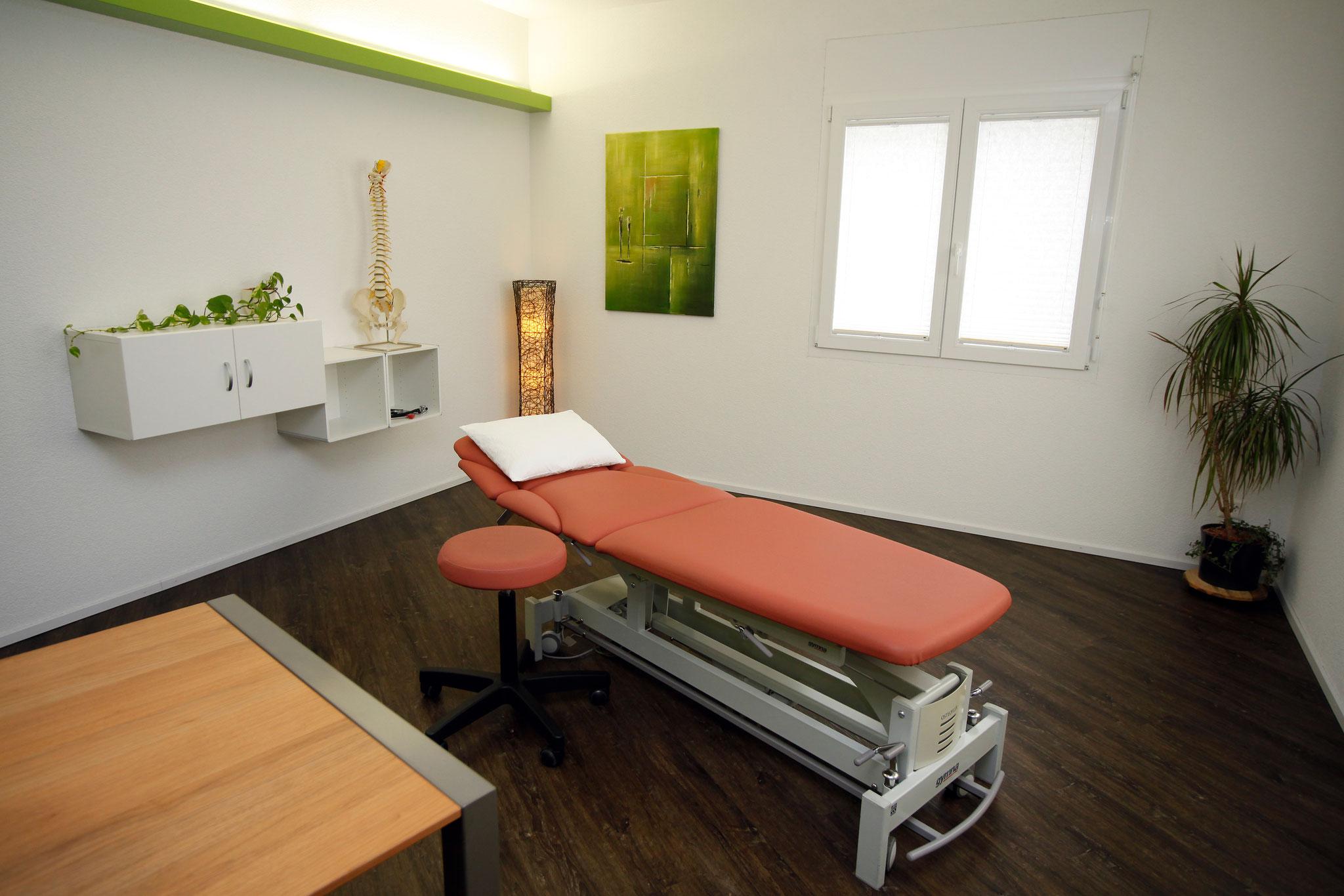 Behandlungszimmer Osteo