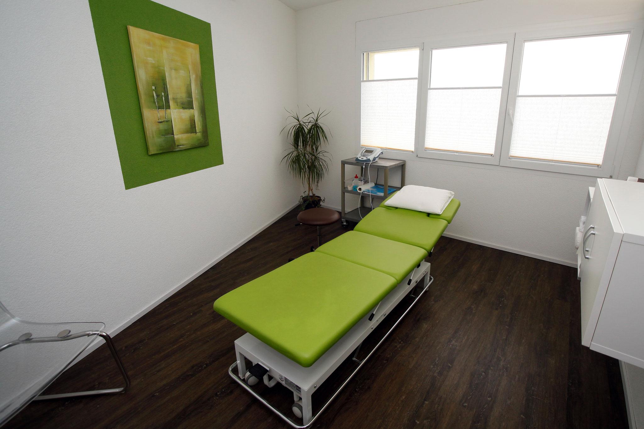 Behandlungszimmer Physio