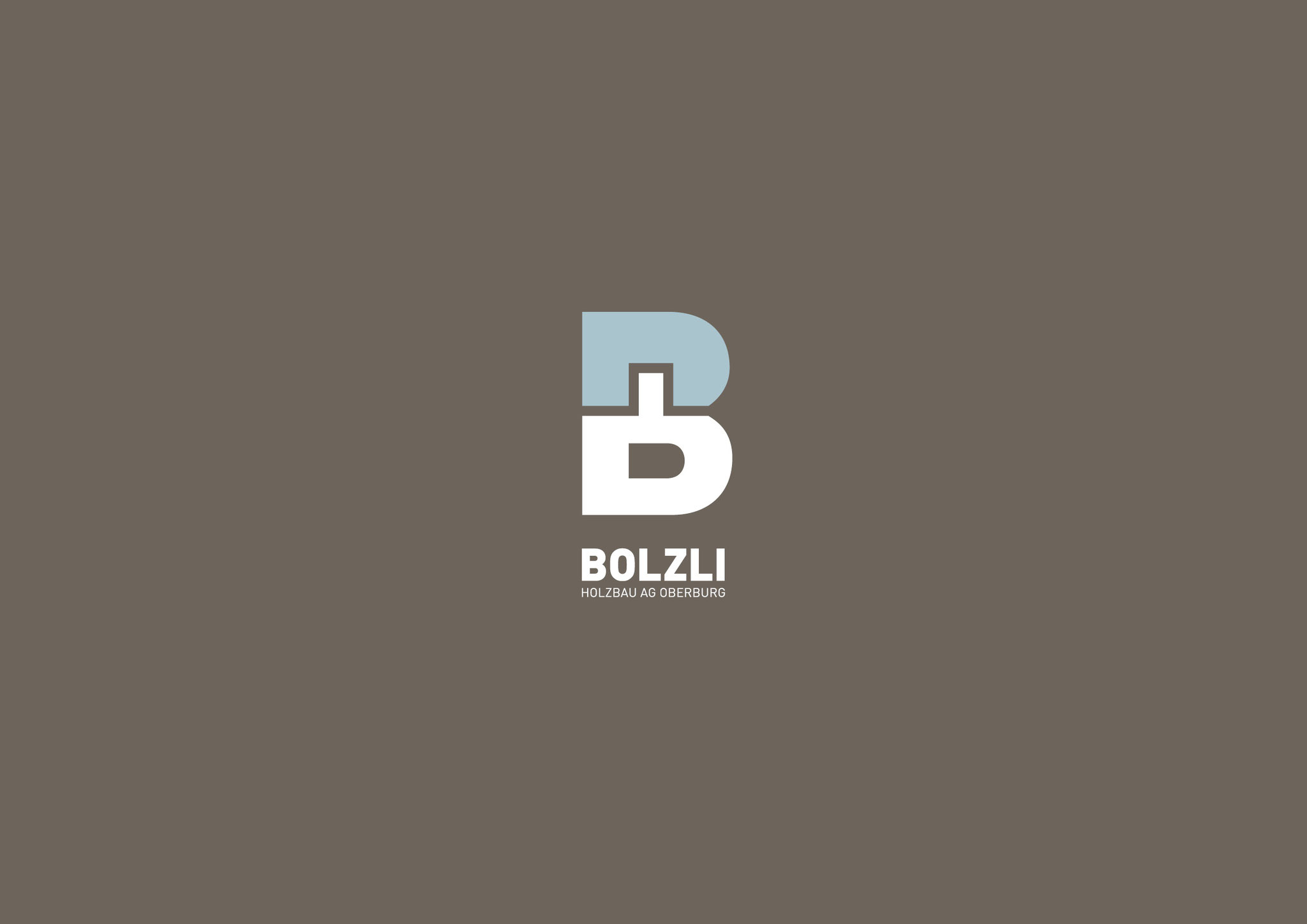 Corporate Design Bolzli Holzbau AG, Oberburg: Entwicklung Brand (Logo/Bildzeichen), Graphic Design by Lockedesign, Region Bern