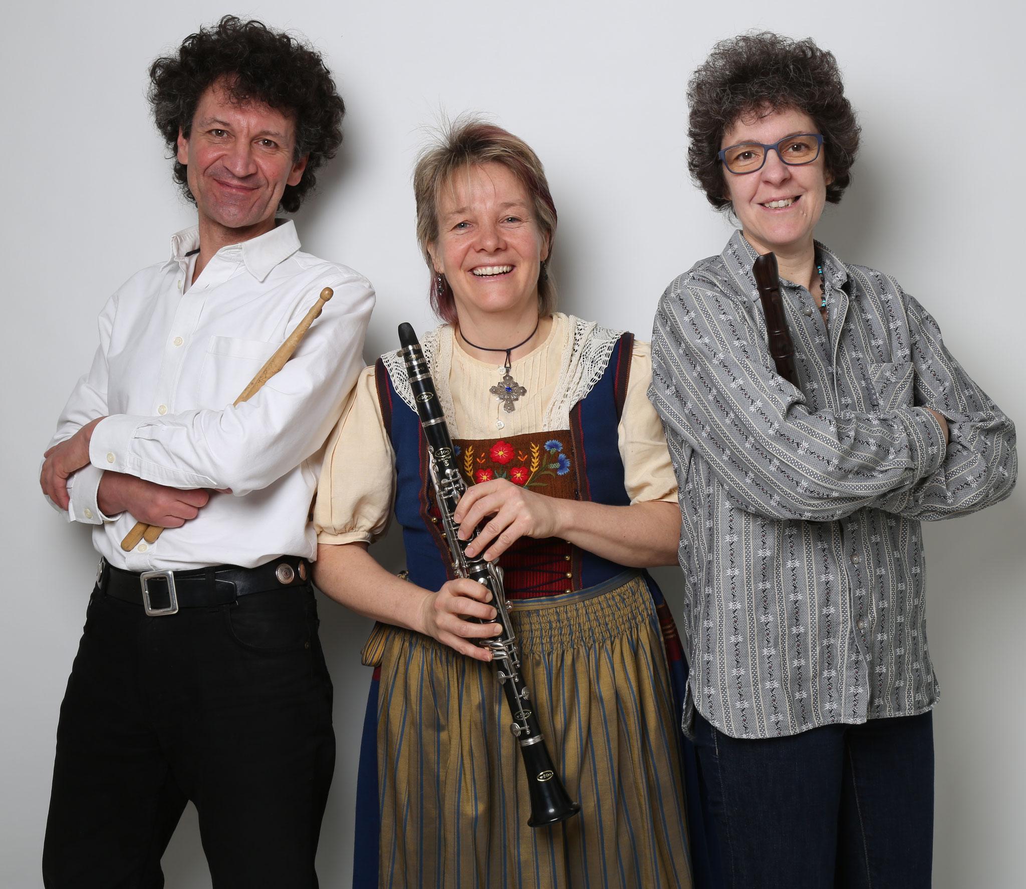 2016 Unsere Gäste Rolf Suss, Edith Campagnani, Pollyanna Zybach