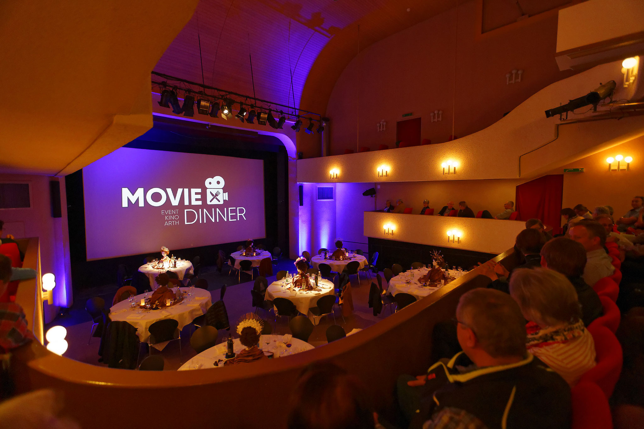 Movie Dinner im Event Kino Arth