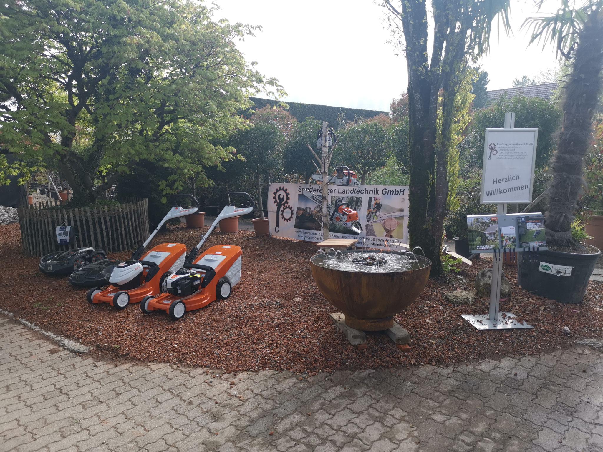 Am 01. Mai 2019 durften wir mit einem Stand wie auch schon in den vergangenen Jahren am Aescher Gartentag uns und unsere Produkte vorstellen.