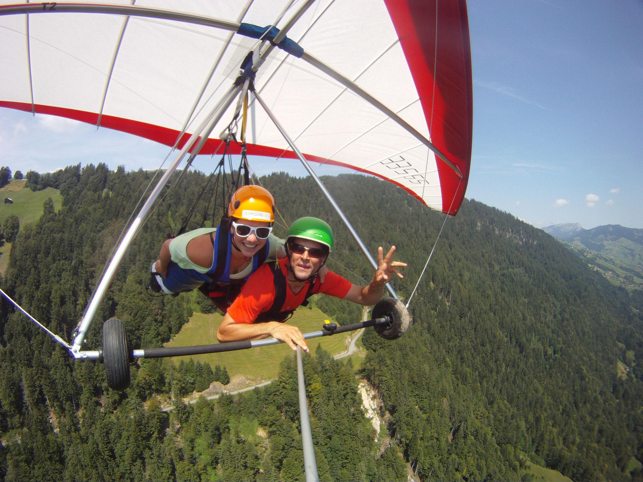 Hang Gliding Switzerland Valais Wallis