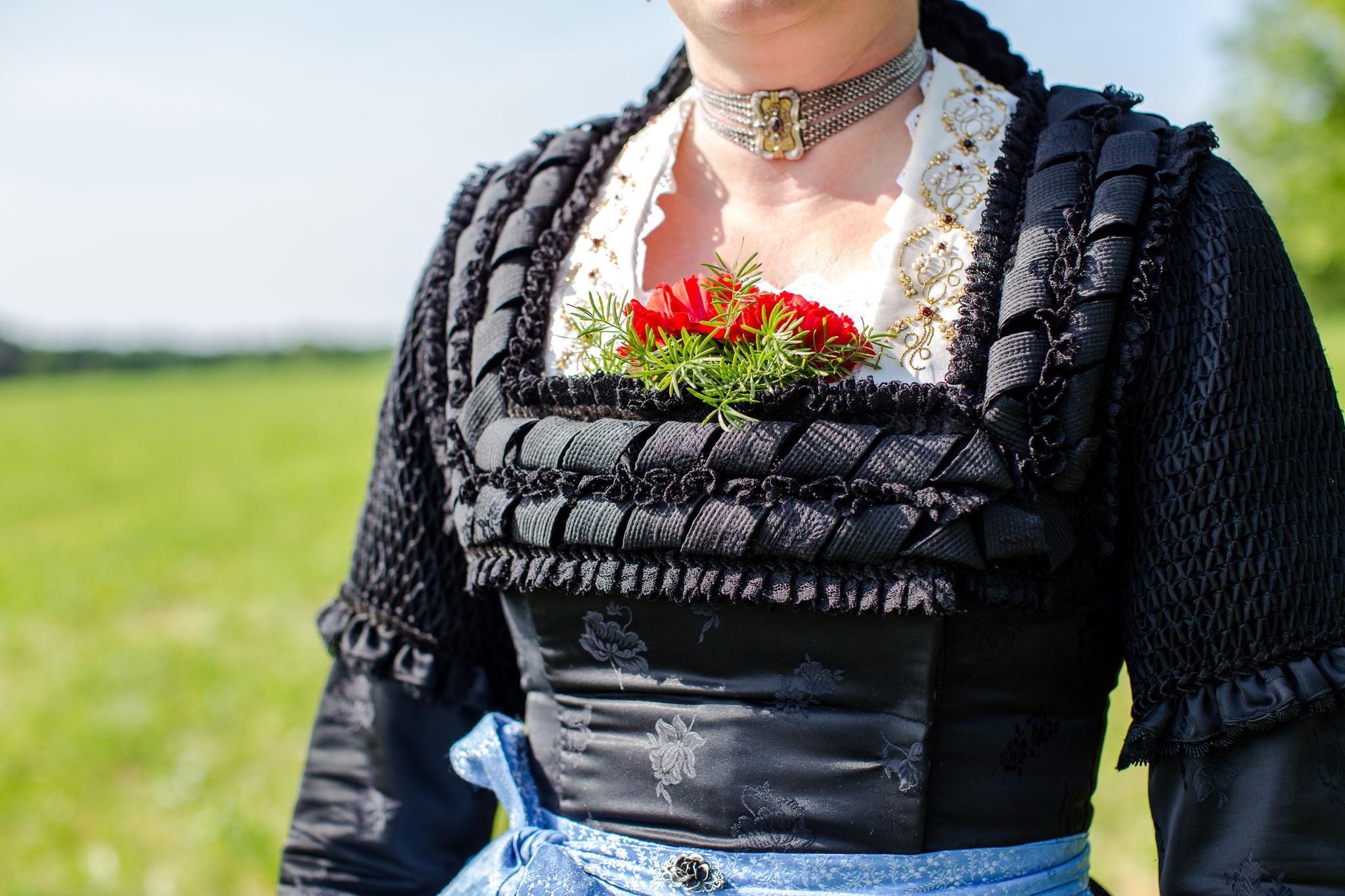 Kasettlfrau D'Lindntaler Lauterbach - Fotoshooting zum Gaufest 2018 in Lauterbach