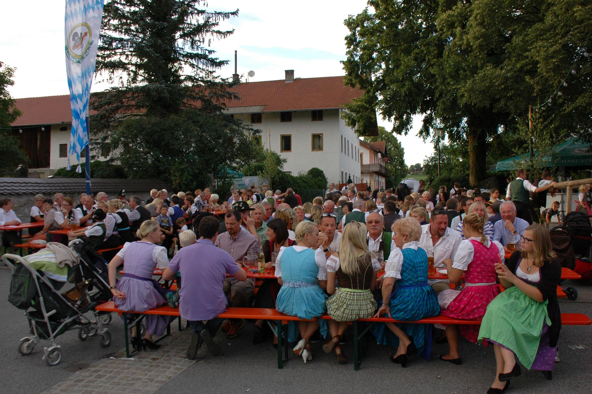 Leute Dorffest Lauterbach