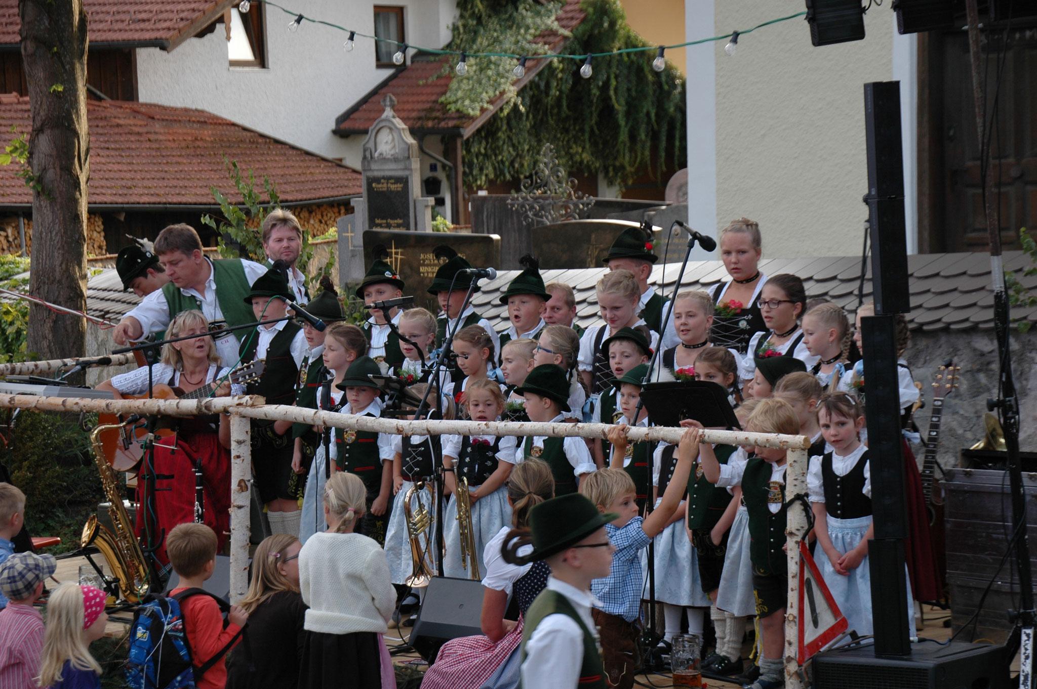 Kindergruppe Dorffest Lauterbach