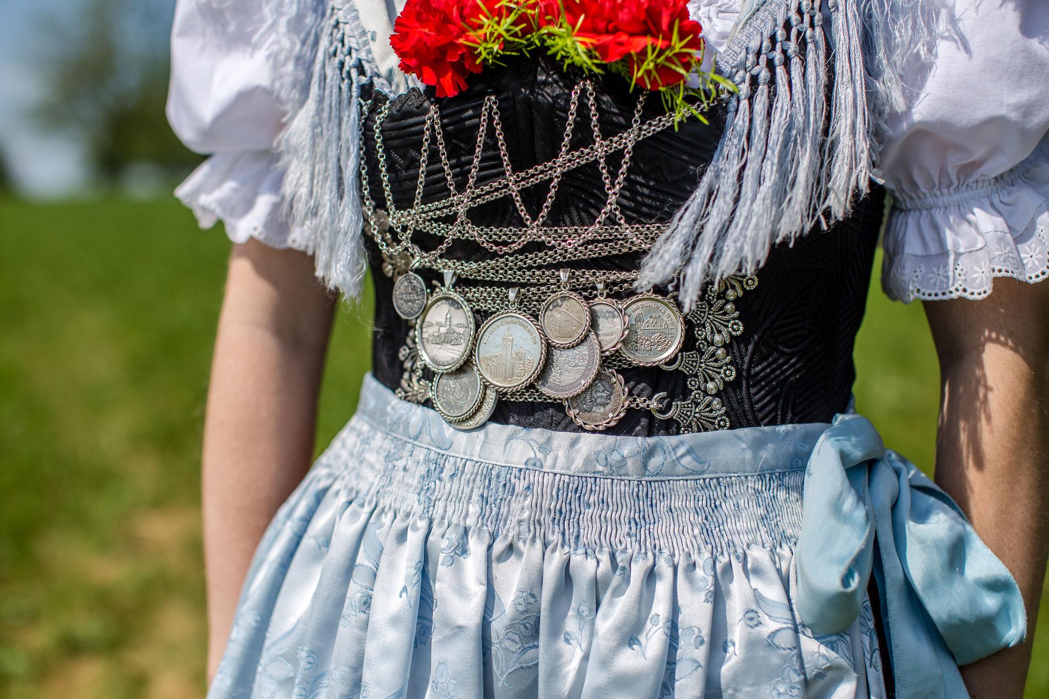 Aktives Dirndl D'Lindntaler Lauterbach  - Fotoshooting zum Gaufest 2018 in Lauterbach