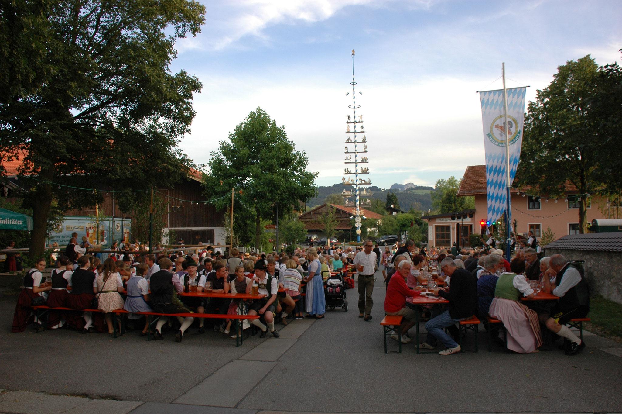 Dorffest Lauterbach Trachtenverein D'Lindntaler Lauterbach