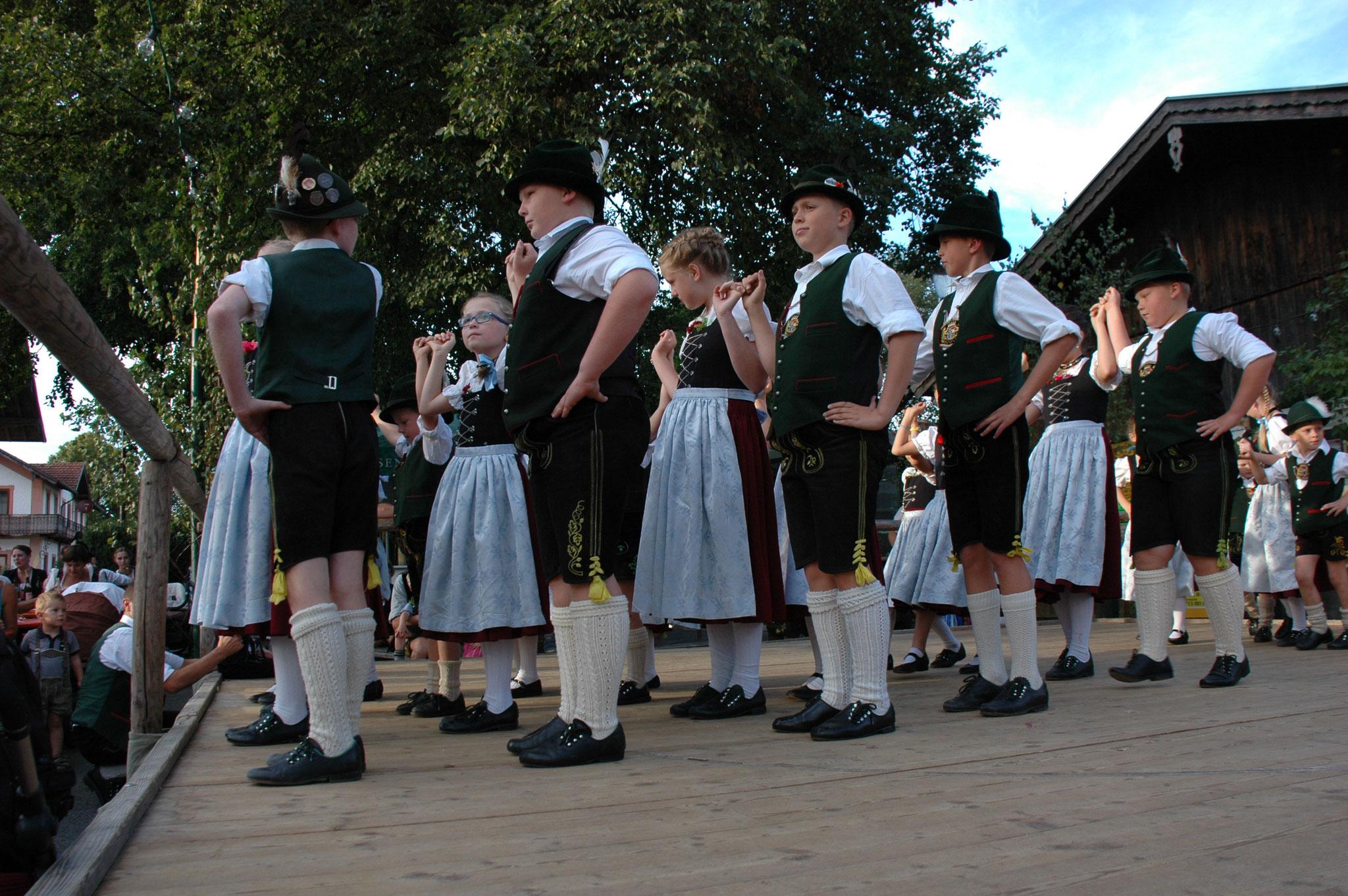 Kindergruppe Dorffest Lauterbach Trachtenverein