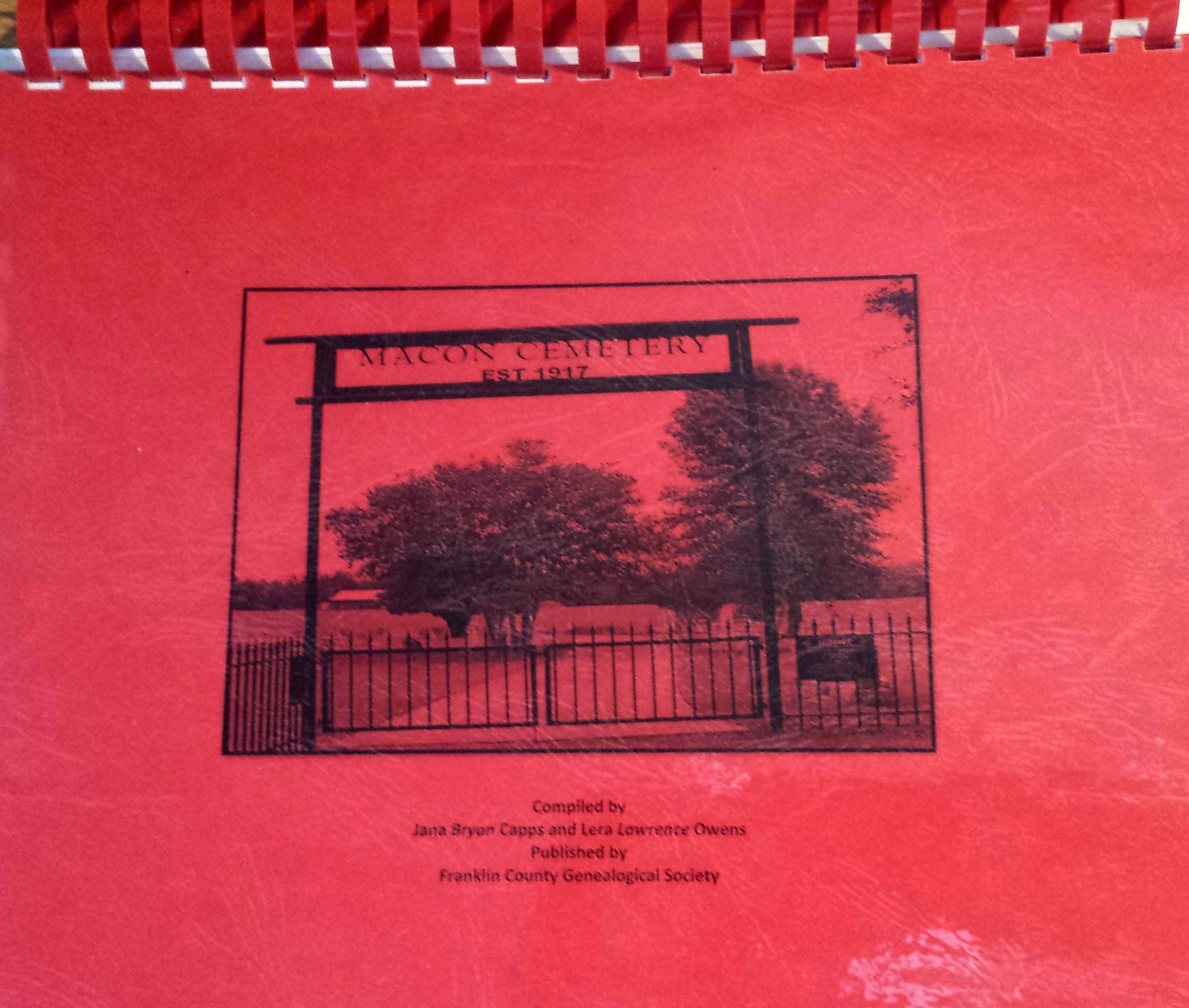 Cover of Macon Cemetery