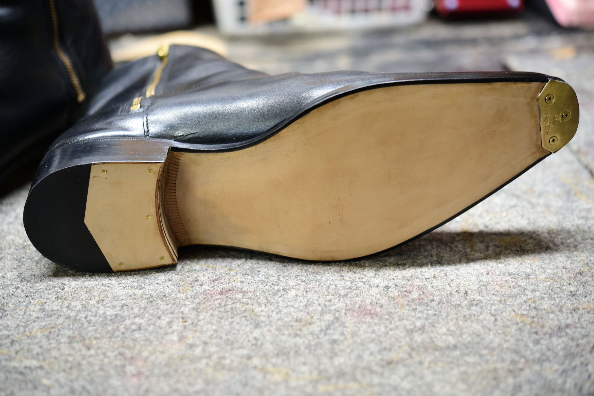 修理後・紳士靴