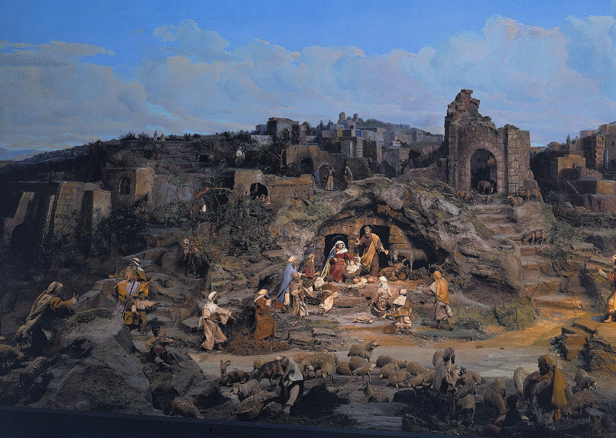 Diorama Bethlehem