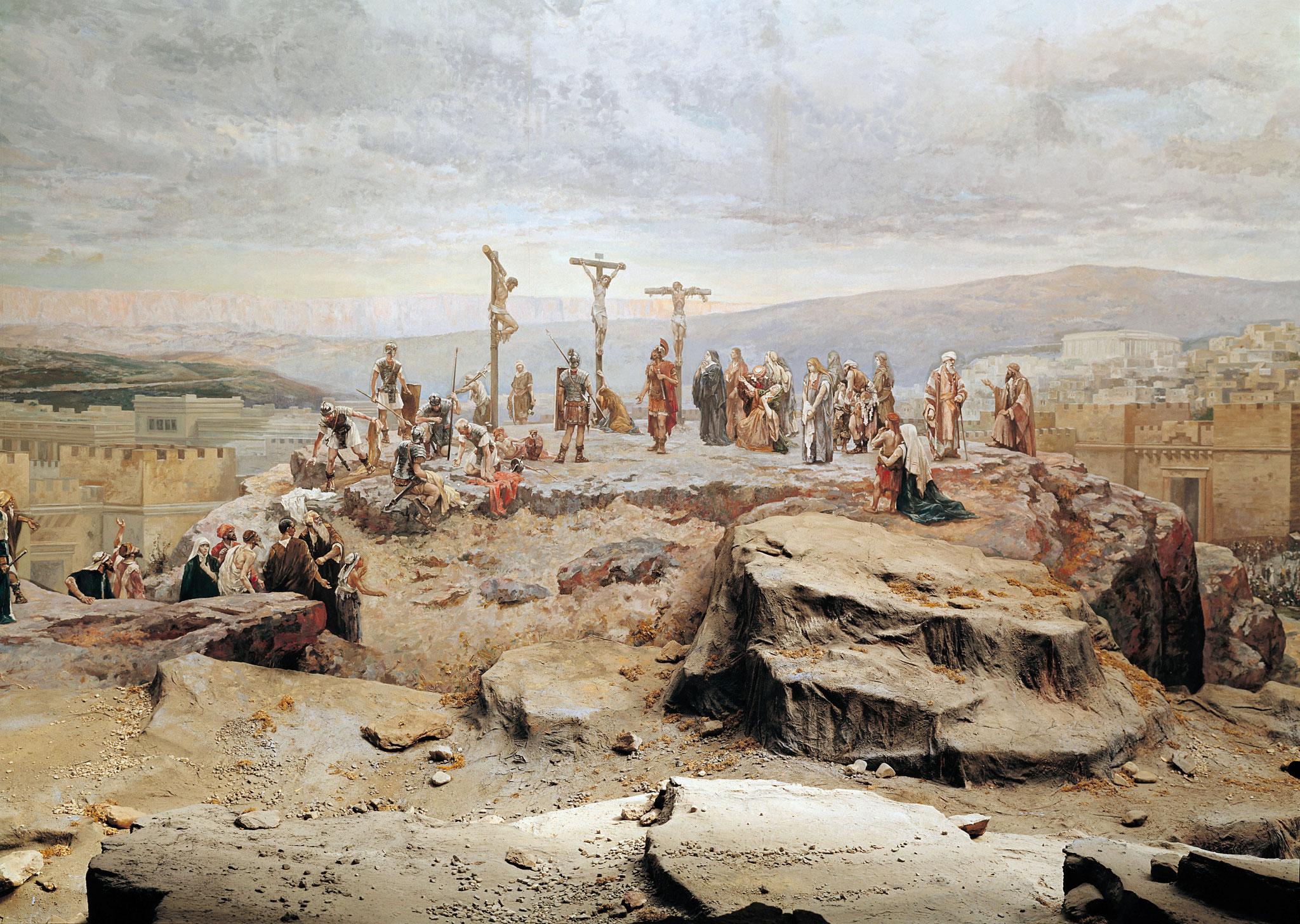 Panorama Kreuzigung Christi