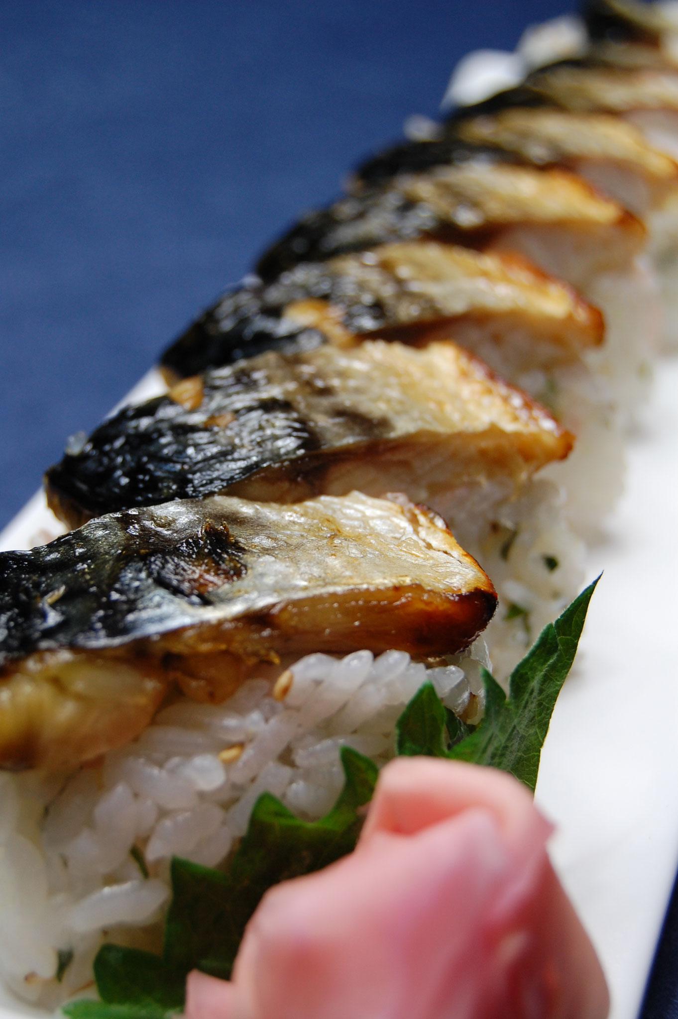焼さば寿司 1080円
